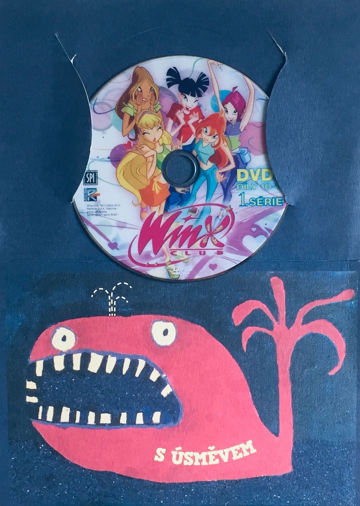 Winx Club - 1. série - DVD 3 - díly 10-13 - DVD /dárkový obal/