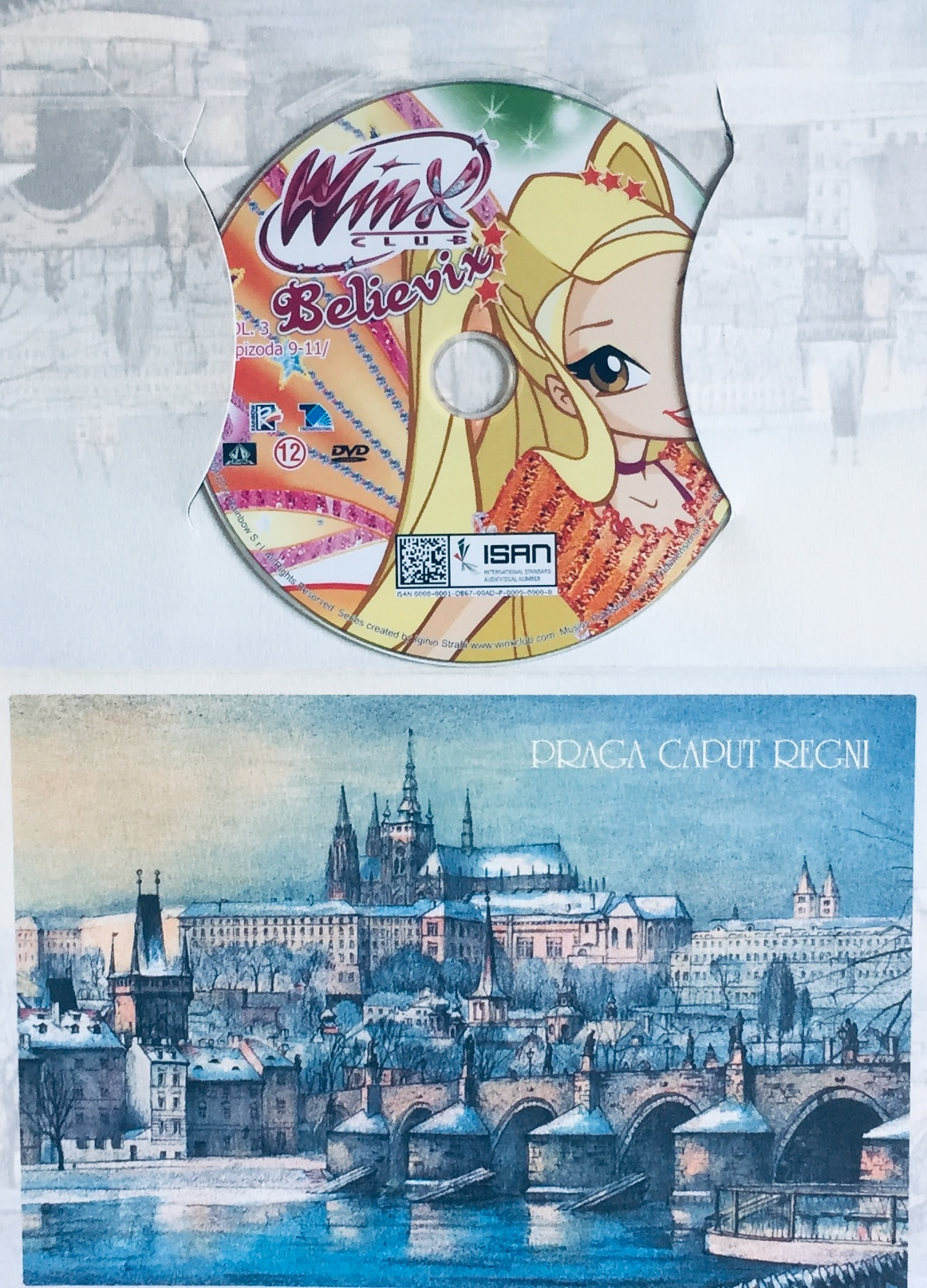 Winx Club - Believix - Vol. 3 - epizoda 9-11 - DVD /dárkový obal/