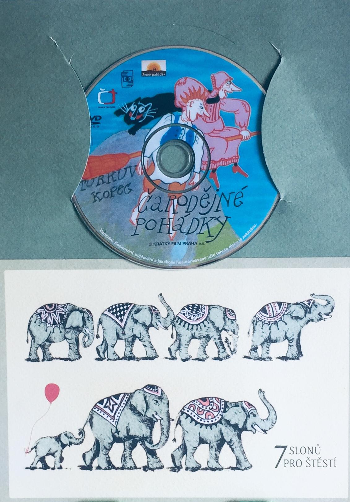 Čarodějné pohádky - DVD /dárkový obal/