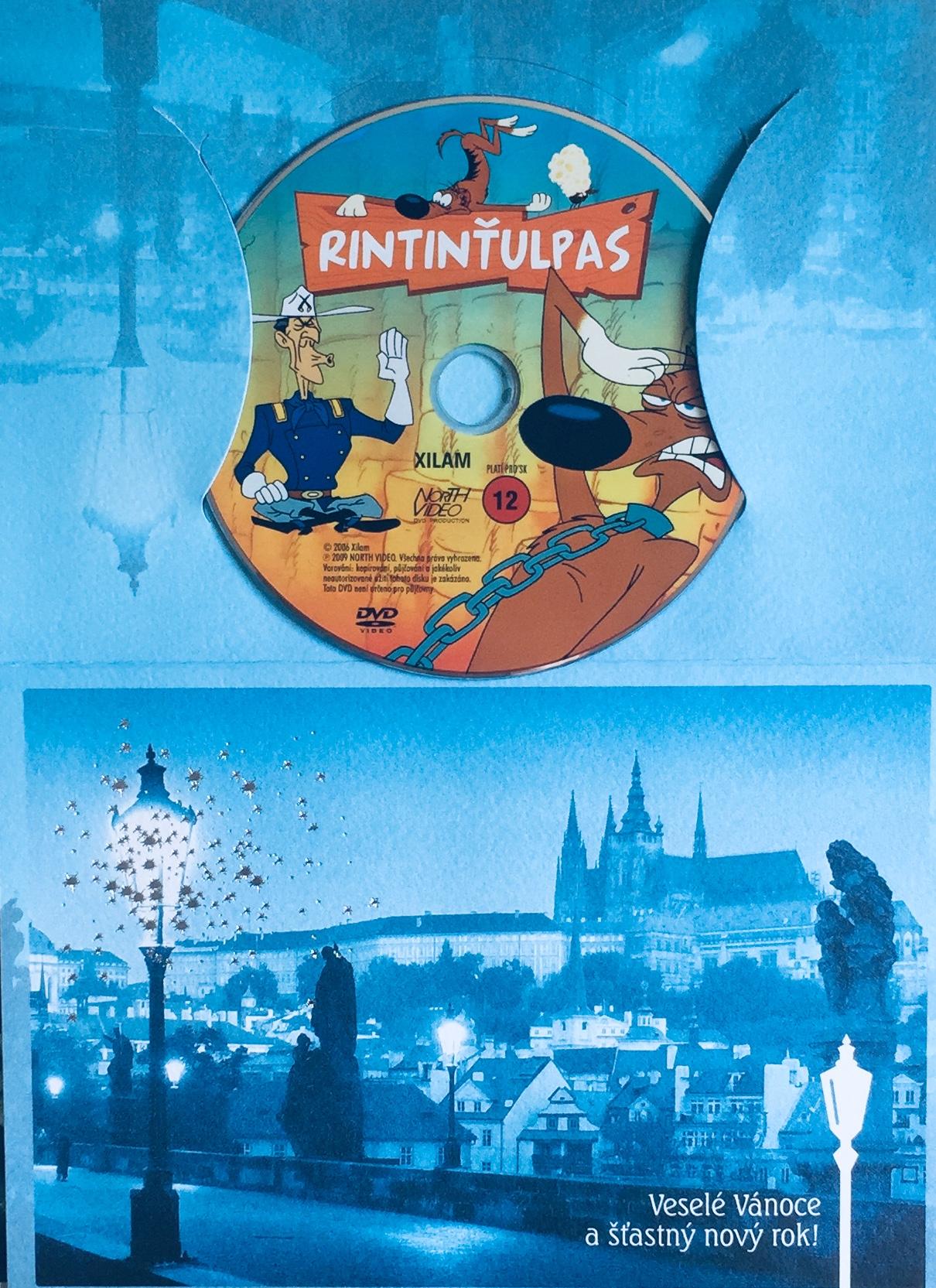 Rintinťulpas - DVD /dárkový obal/