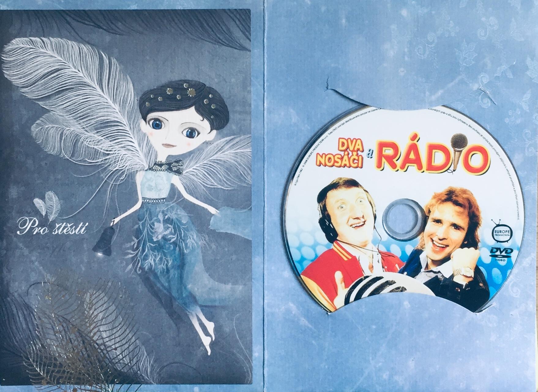 Dva nosáči a rádio - DVD /dárkový obal/
