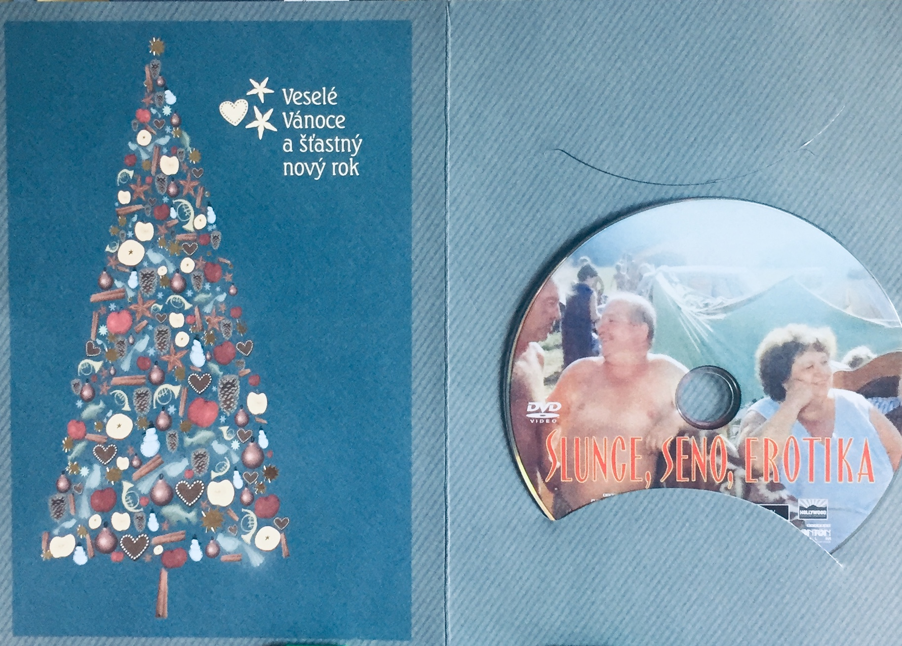 Slunce, seno, erotika - DVD /dárkový obal/