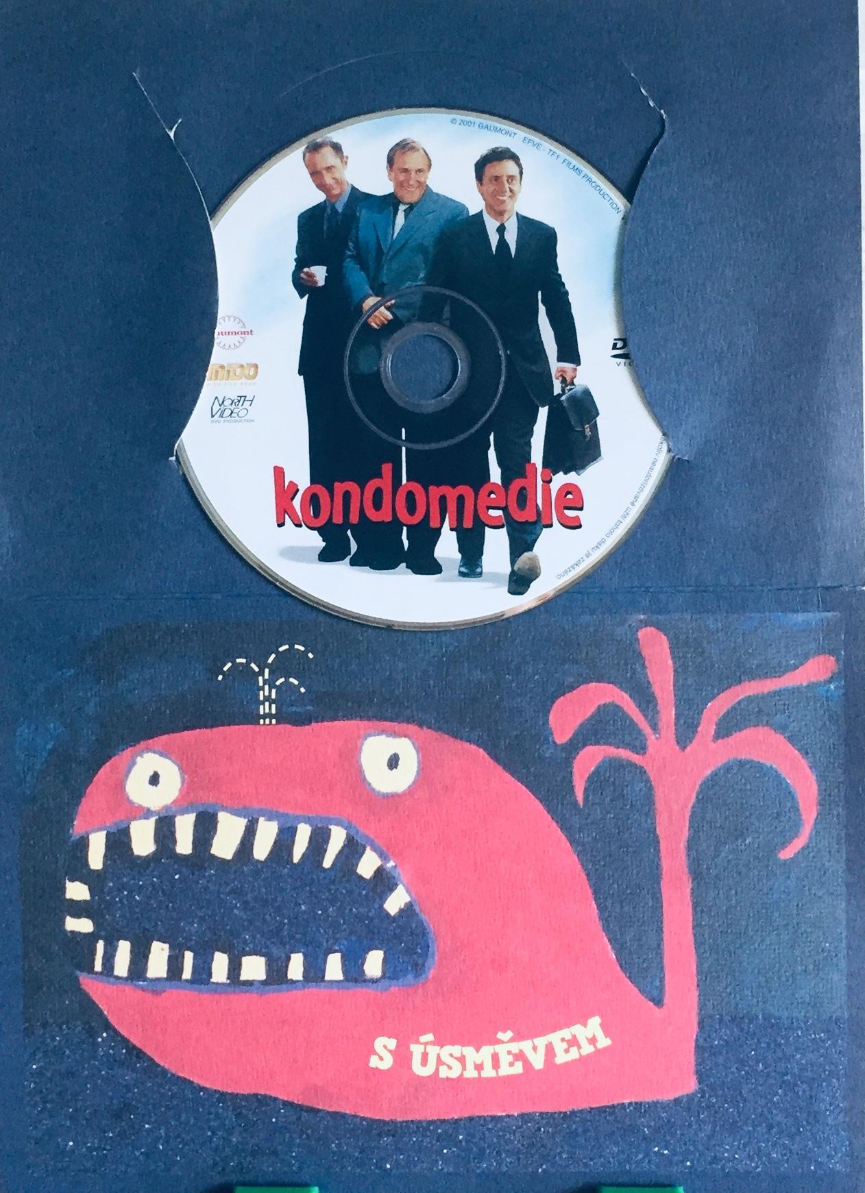 Kondomedie - DVD /dárkový obal/