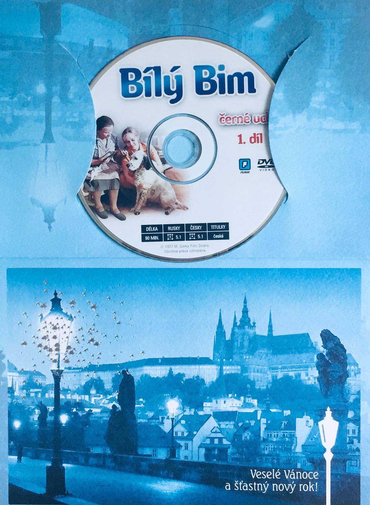 Bílý Bim, Černé Ucho - 1. díl - DVD /dárkový obal/