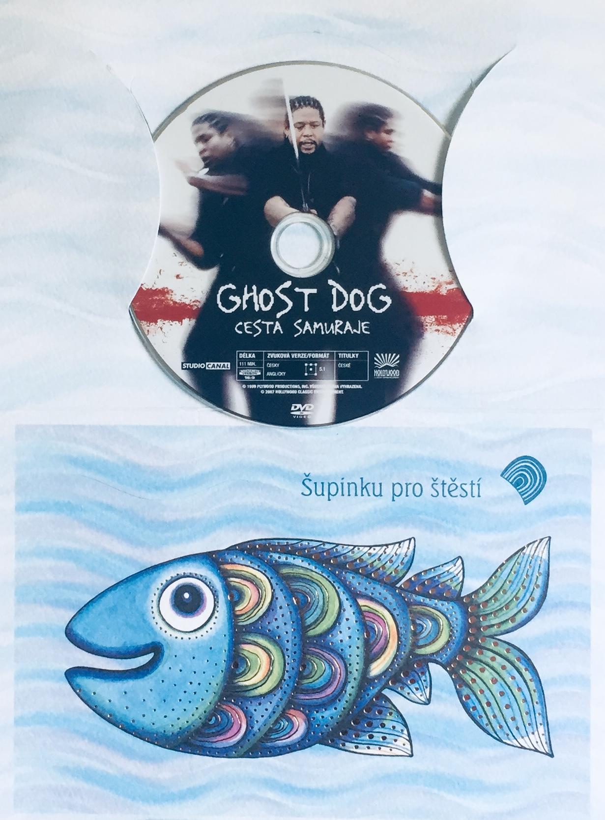 Ghost Dog - Cesta Samuraje - DVD /dárkový obal/