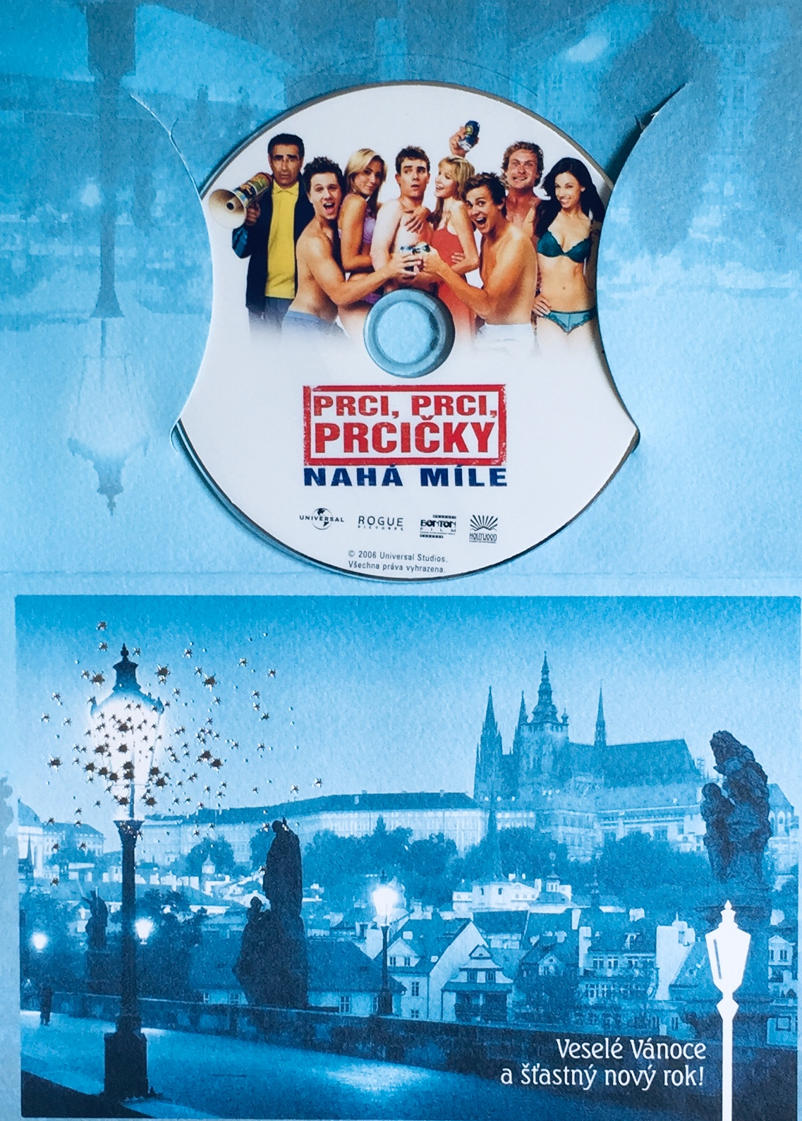 Prci, prci, prcičky - Nahá míle - DVD /dárkový obal/