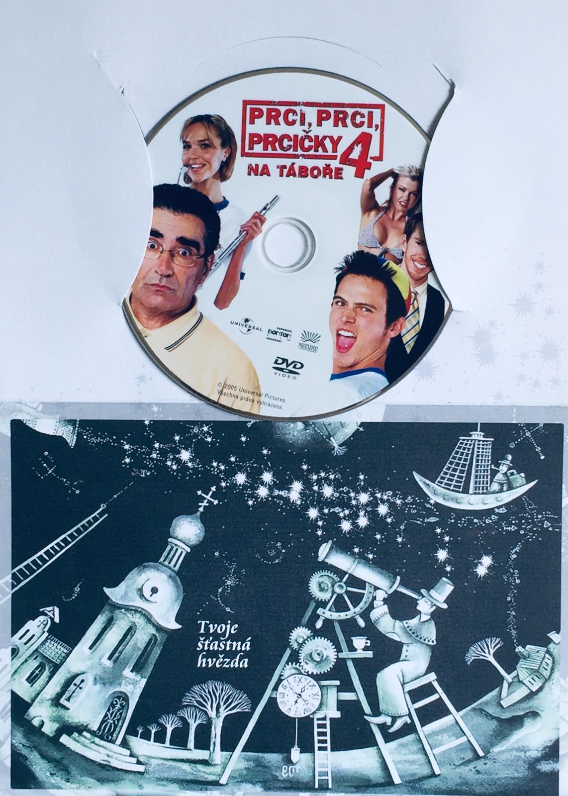 Prci, prci, prcičky 4 - Na táboře - DVD /dárkový obal/
