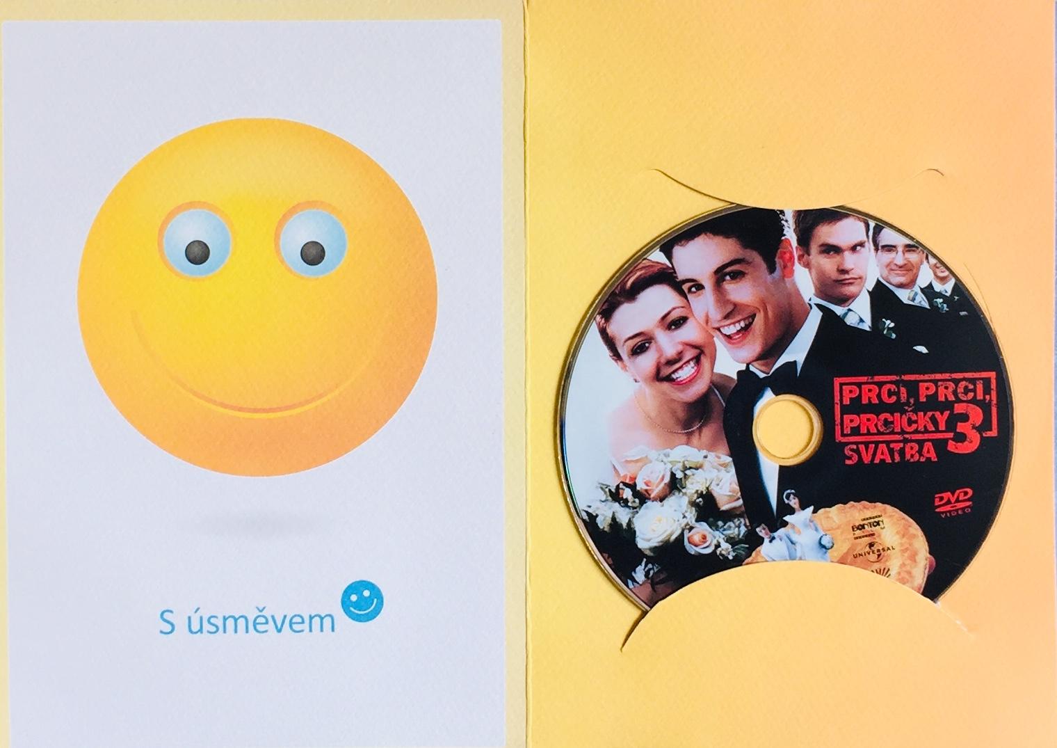 Prci, prci, prcičky 3 - Svatba - DVD /dárkový obal/