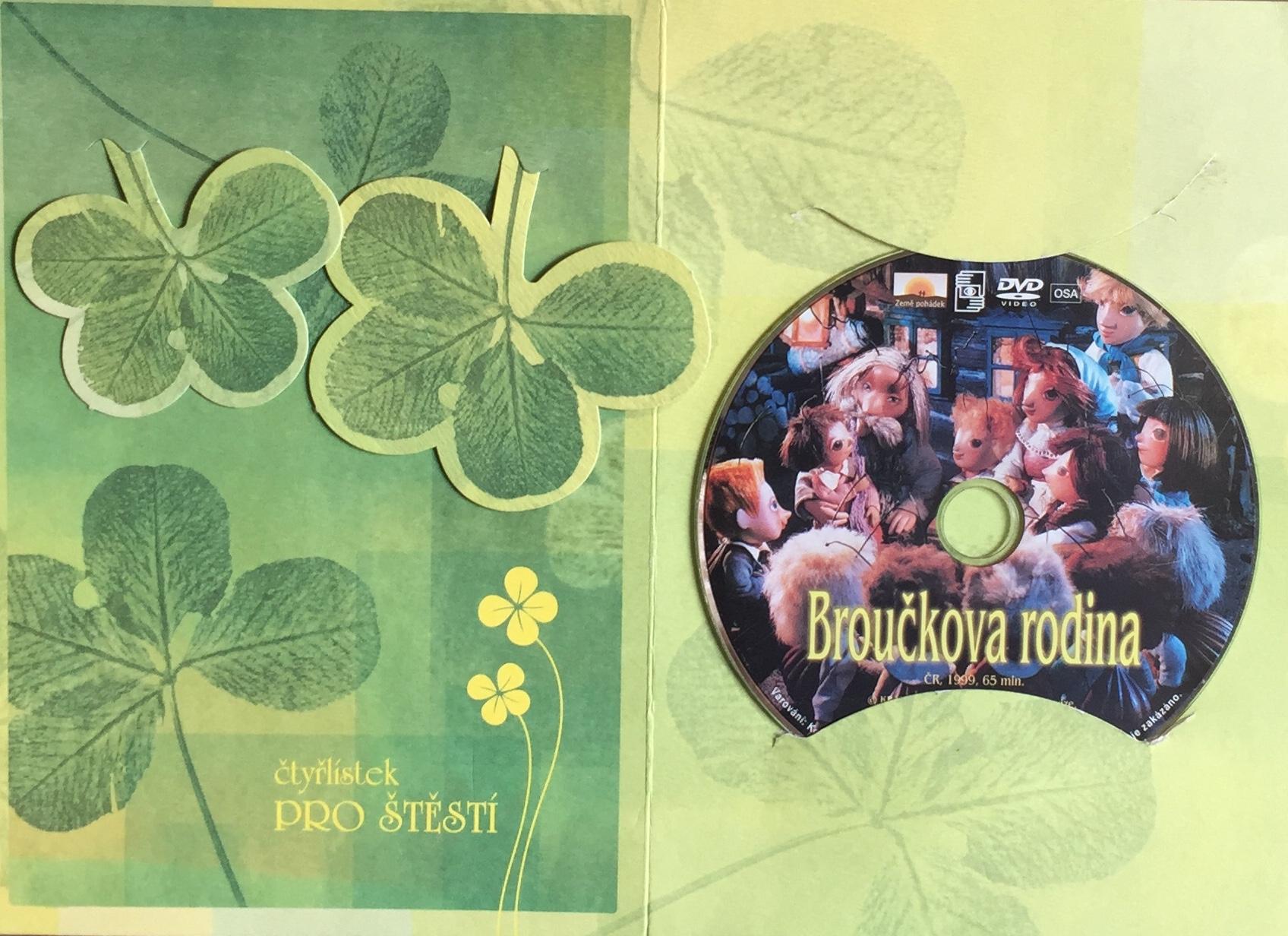 Broučkova rodina - DVD /dárkový obal/