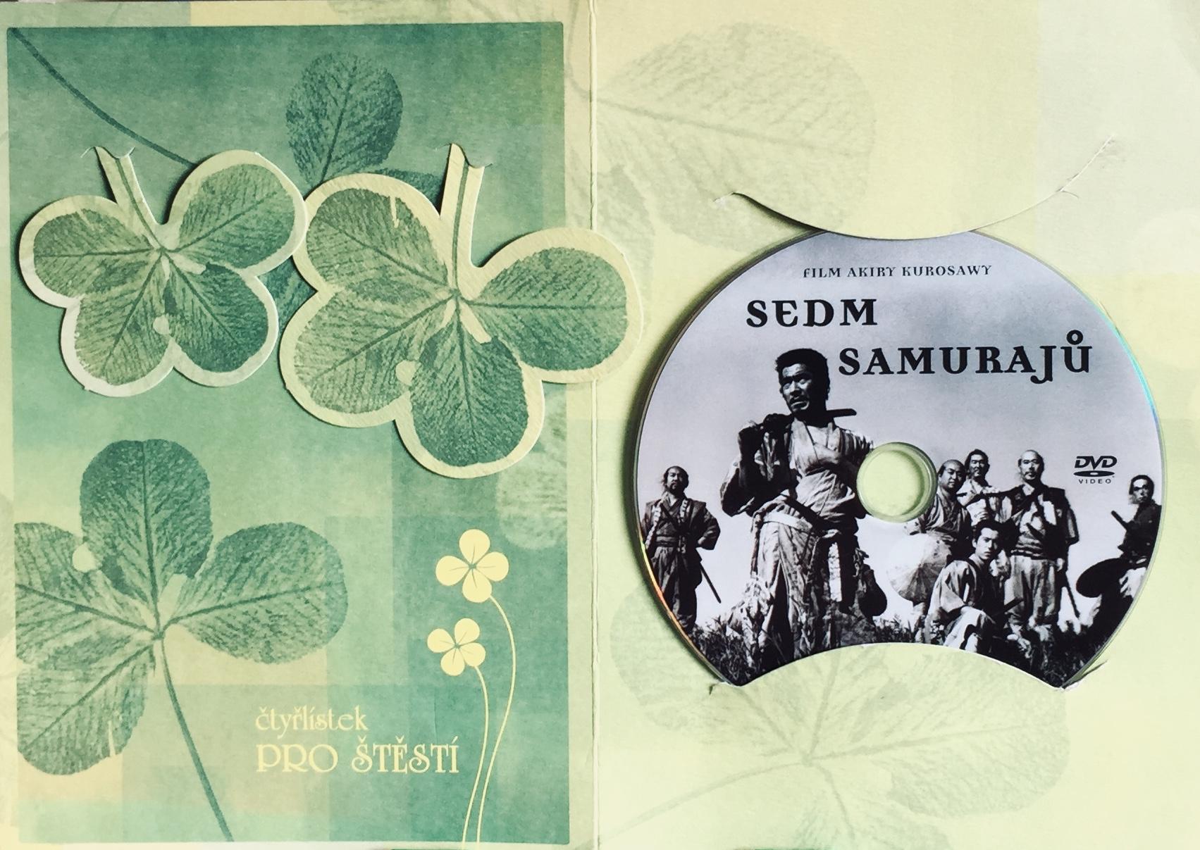 Sedm Samurajů - DVD /dárkový obal/