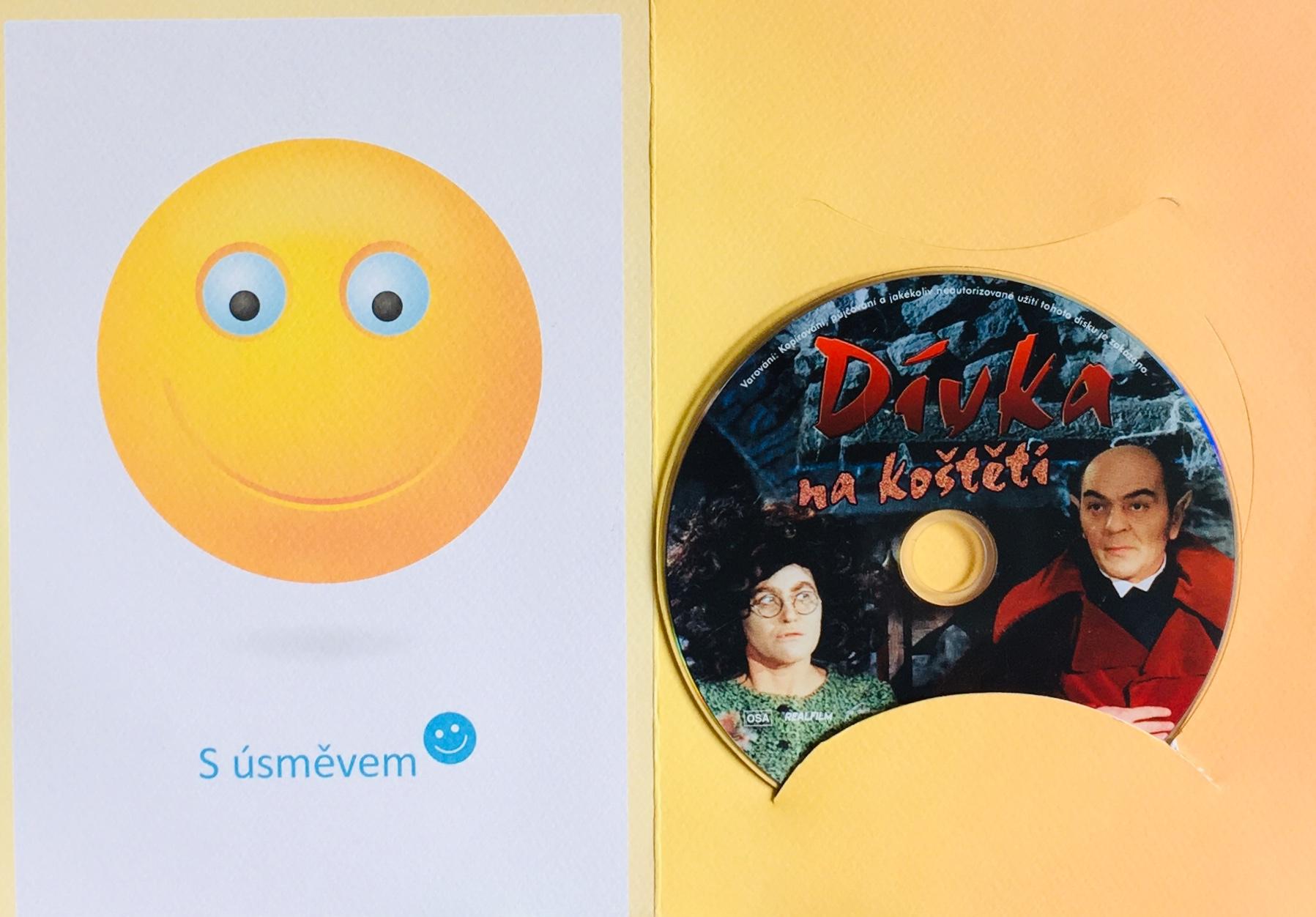Dívka na koštěti - DVD /dárkový obal/