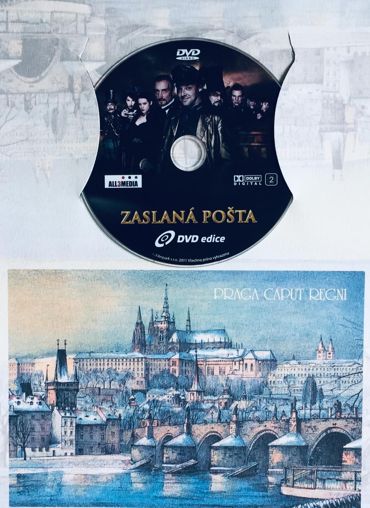 Zaslaná pošta - DVD /dárkový obal/