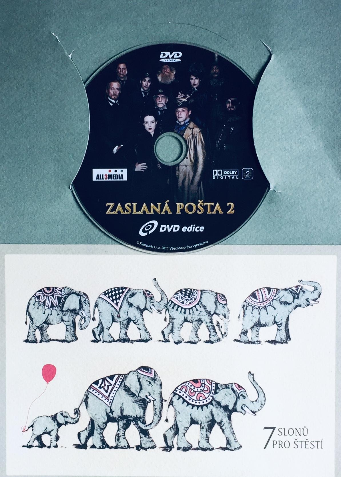 Zaslaná pošta 2 - DVD /dárkový obal/