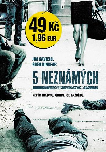 5 Neznámých /Neznámý ( pošetka ) DVD