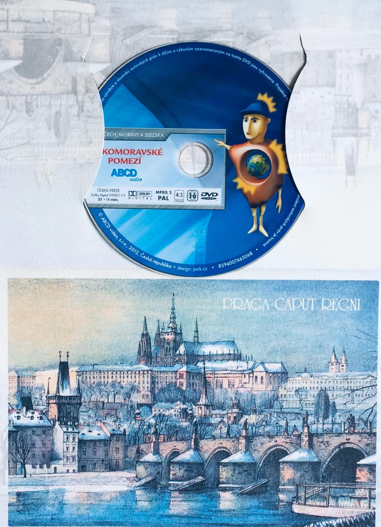 Krásy Čech, Moravy a Slezska - Českomoravské pomezí - DVD /dárkový obal/
