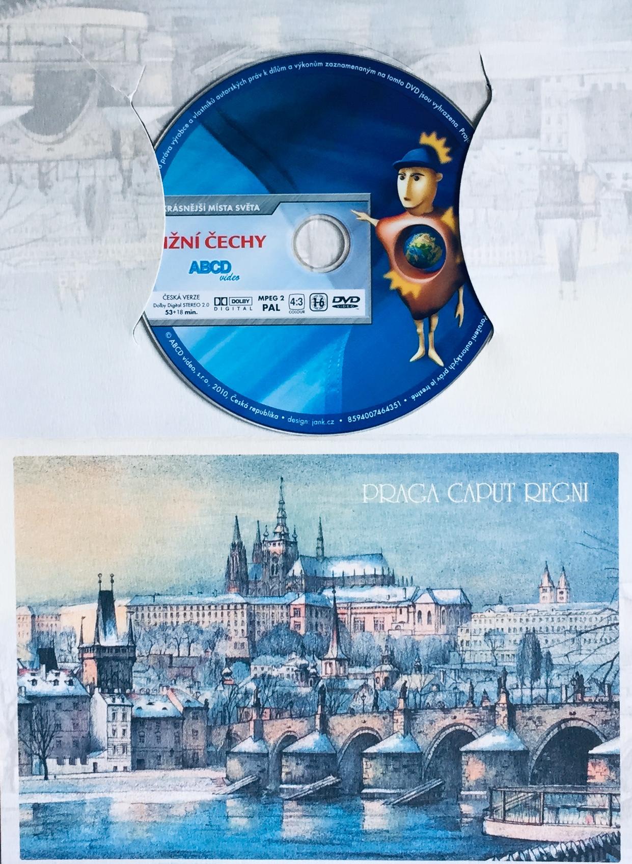 Krásy Čech, Moravy a Slezska - Jižní Čechy - DVD /dárkový obal/