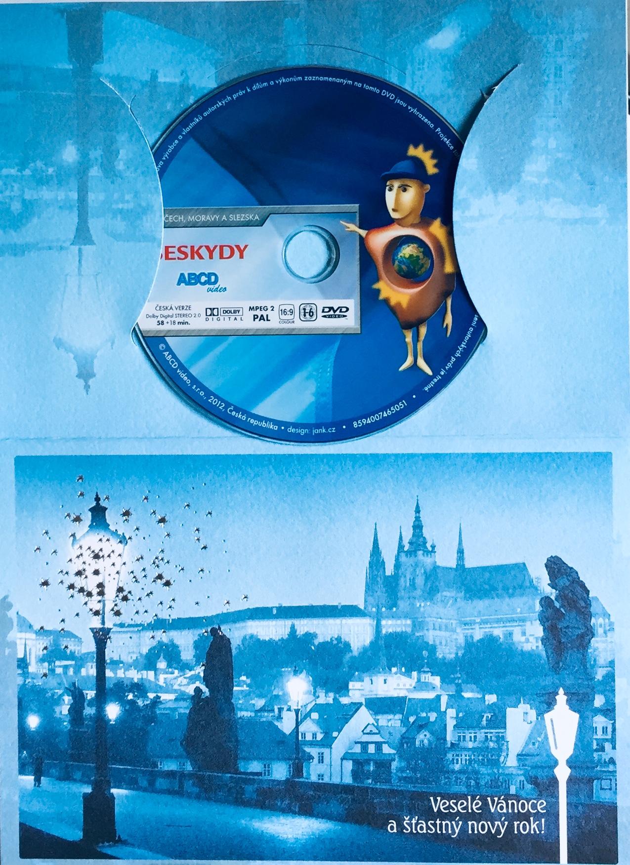 Krásy Čech, Moravy a Slezska - Beskydy - DVD /dárkový obal/
