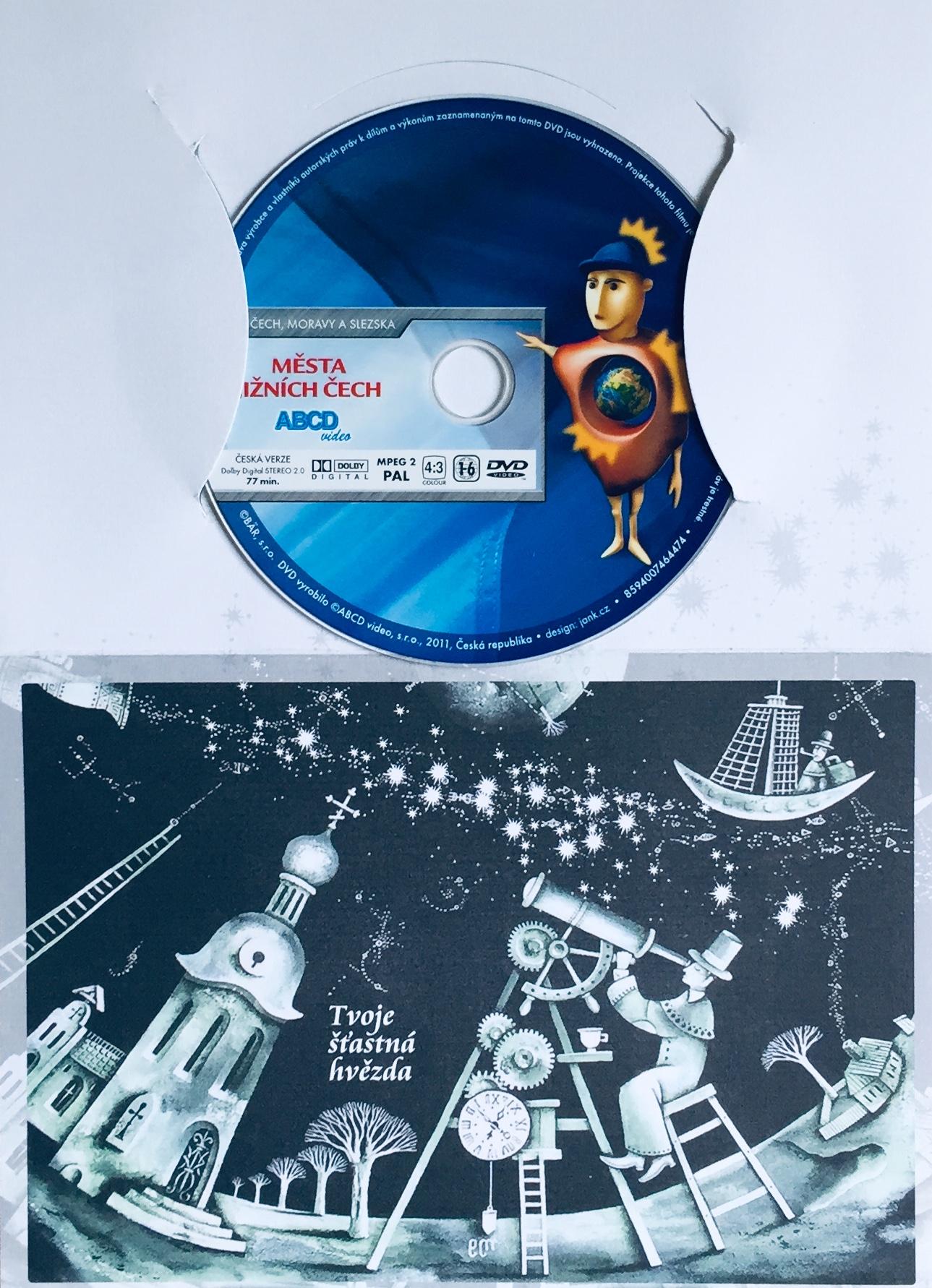 Krásy Čech, Moravy a Slezska - Města Jižních Čech - DVD /dárkový obal/