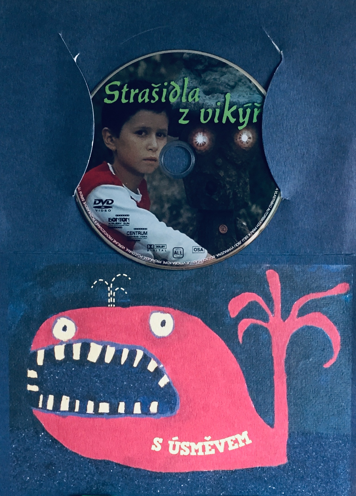 Strašidla z vikýře - DVD /dárkový obal/