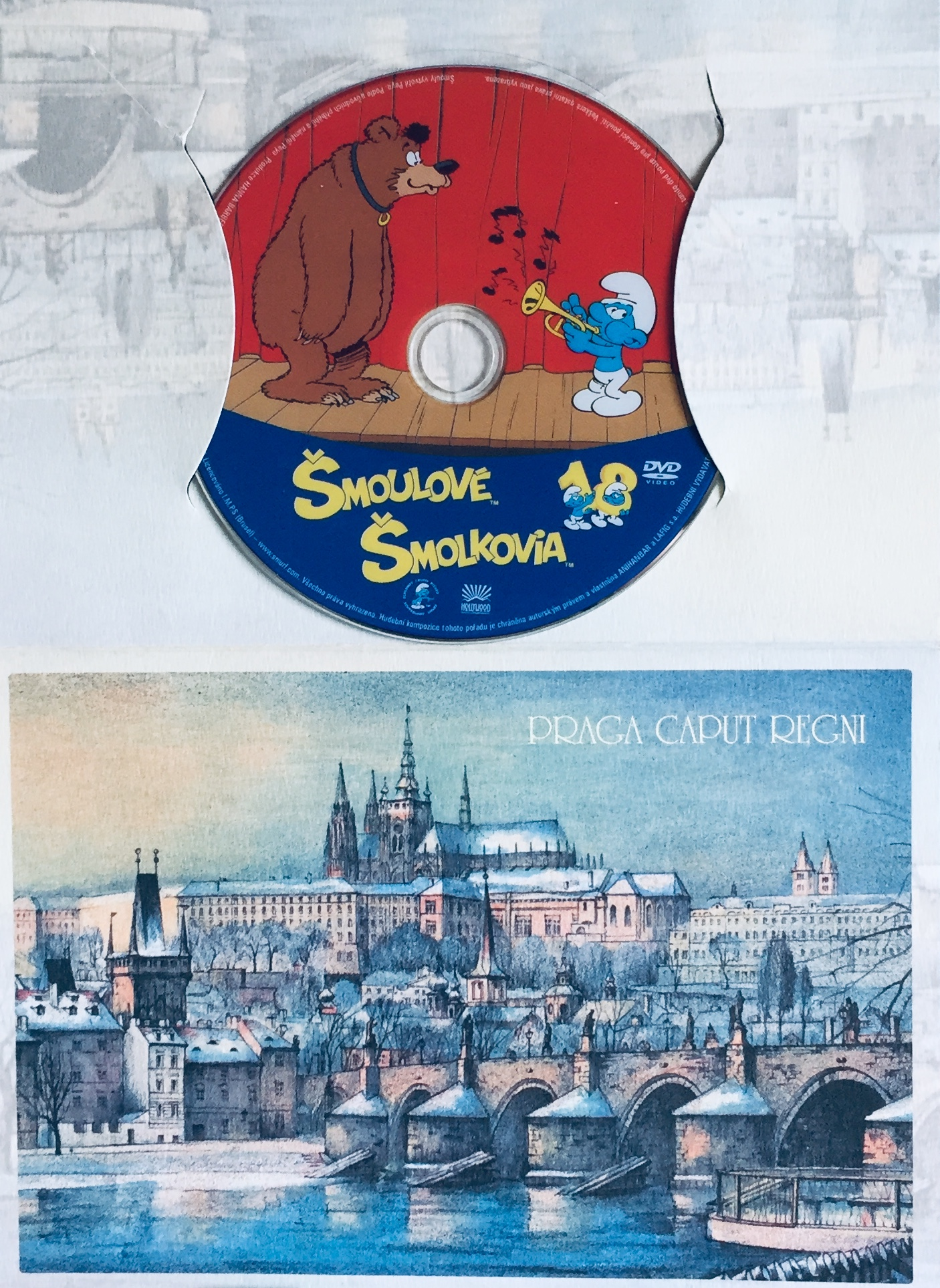 Šmoulové 18 - DVD /dárkový obal/