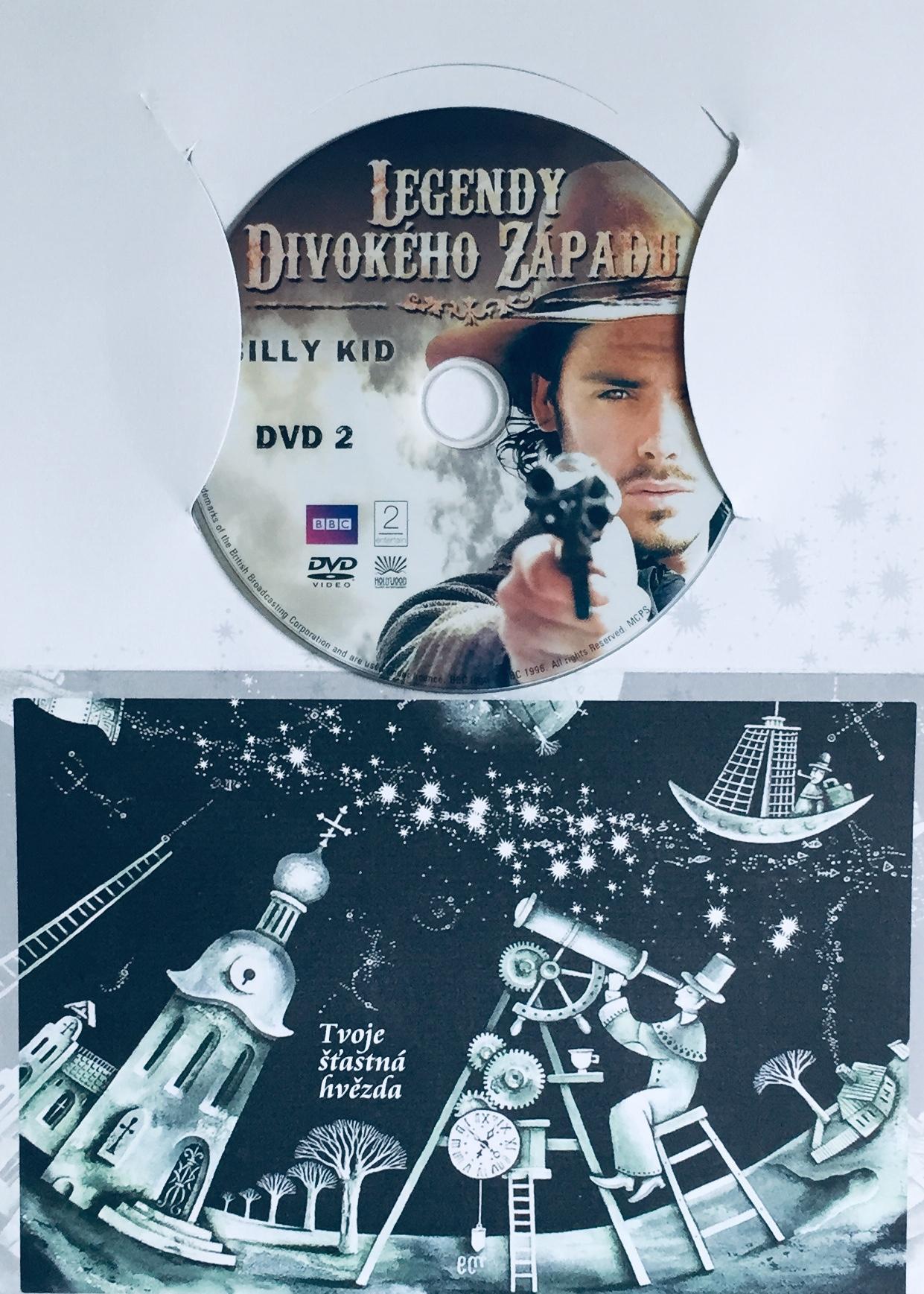 Legendy Divokého západu - Billy Kid - DVD 2 - DVD /dárkový obal/