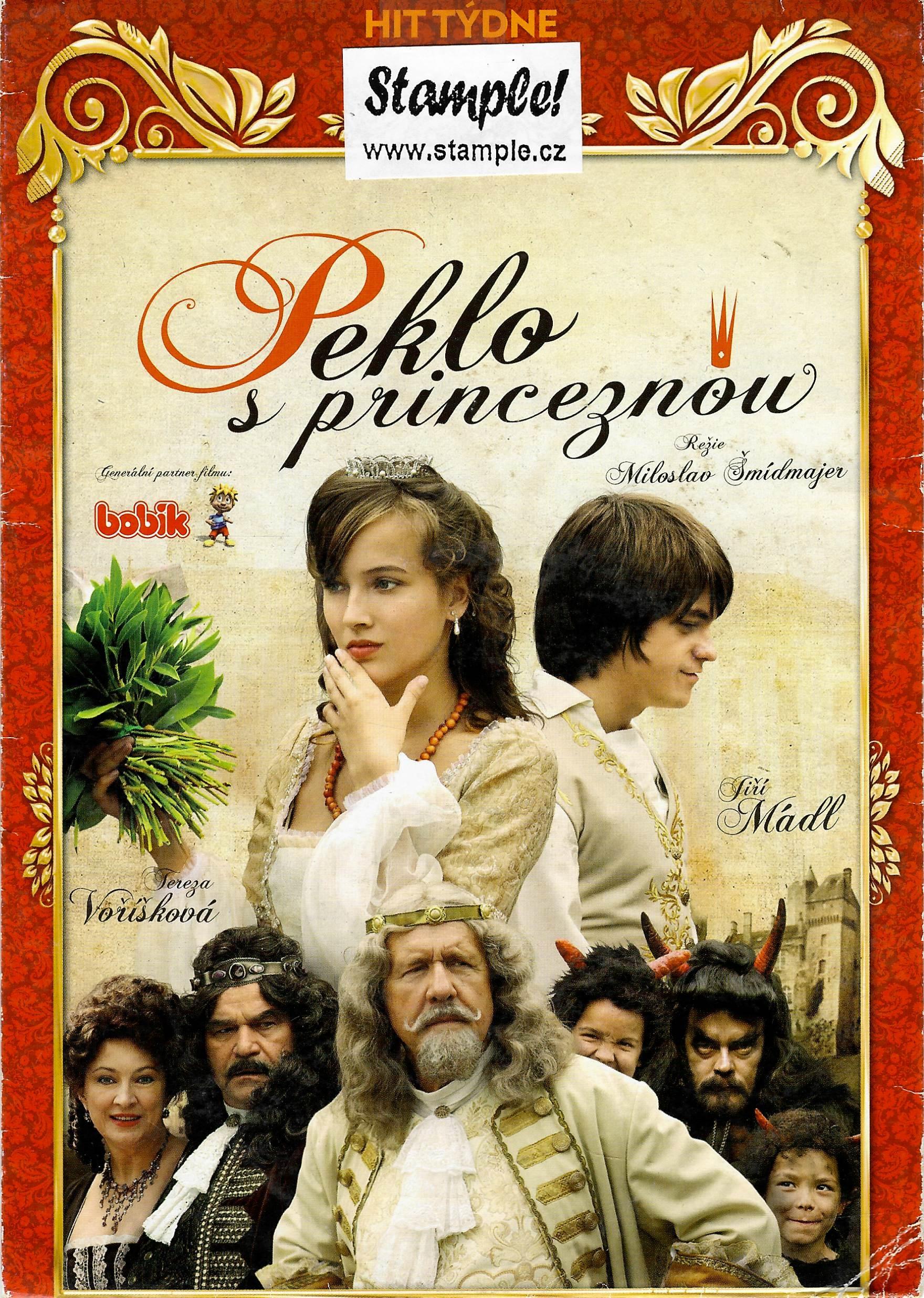 Peklo s princeznou - DVD pošetka - bazarové zboží