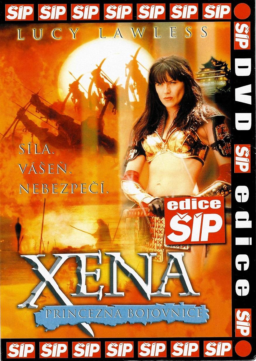 Xena - Princezna bojovnice - DVD pošetka