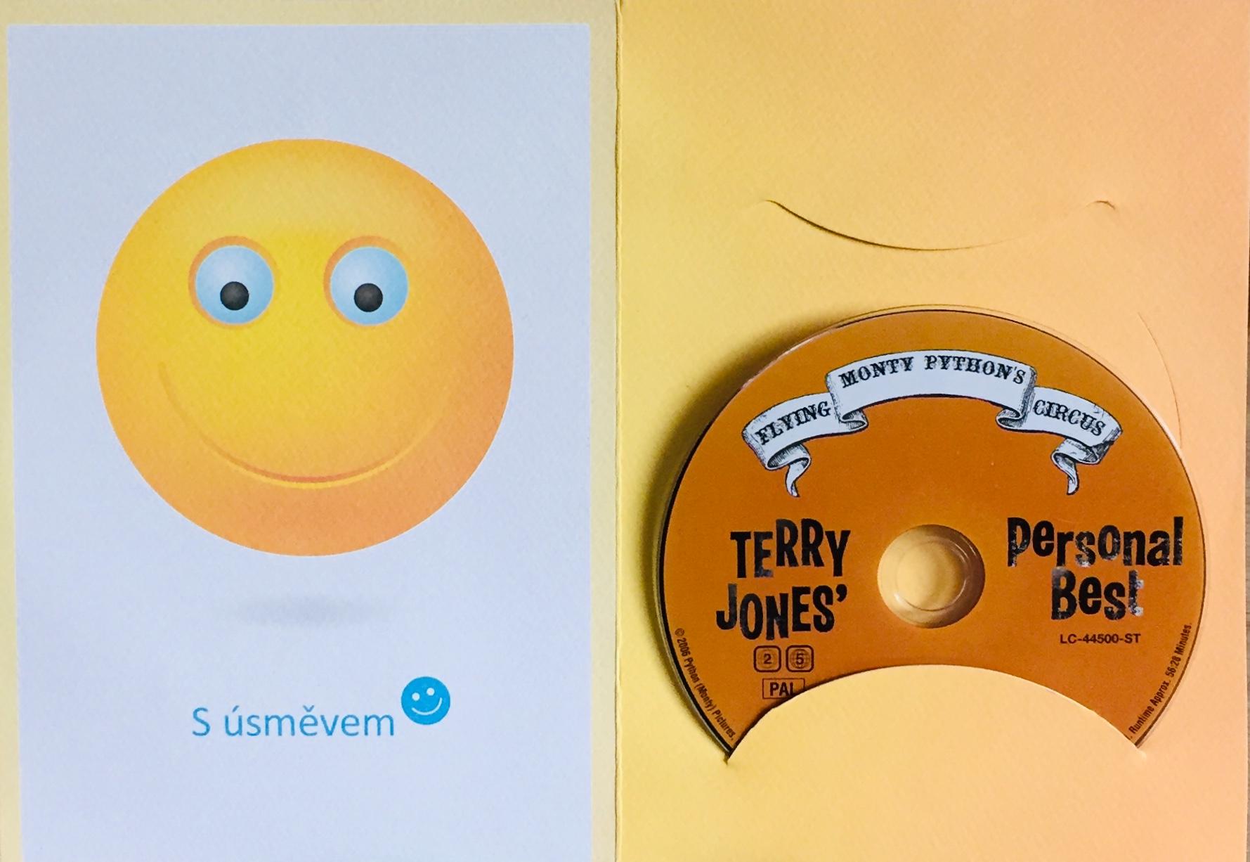 Terry Jones' Personal Best - DVD /dárkový obal/