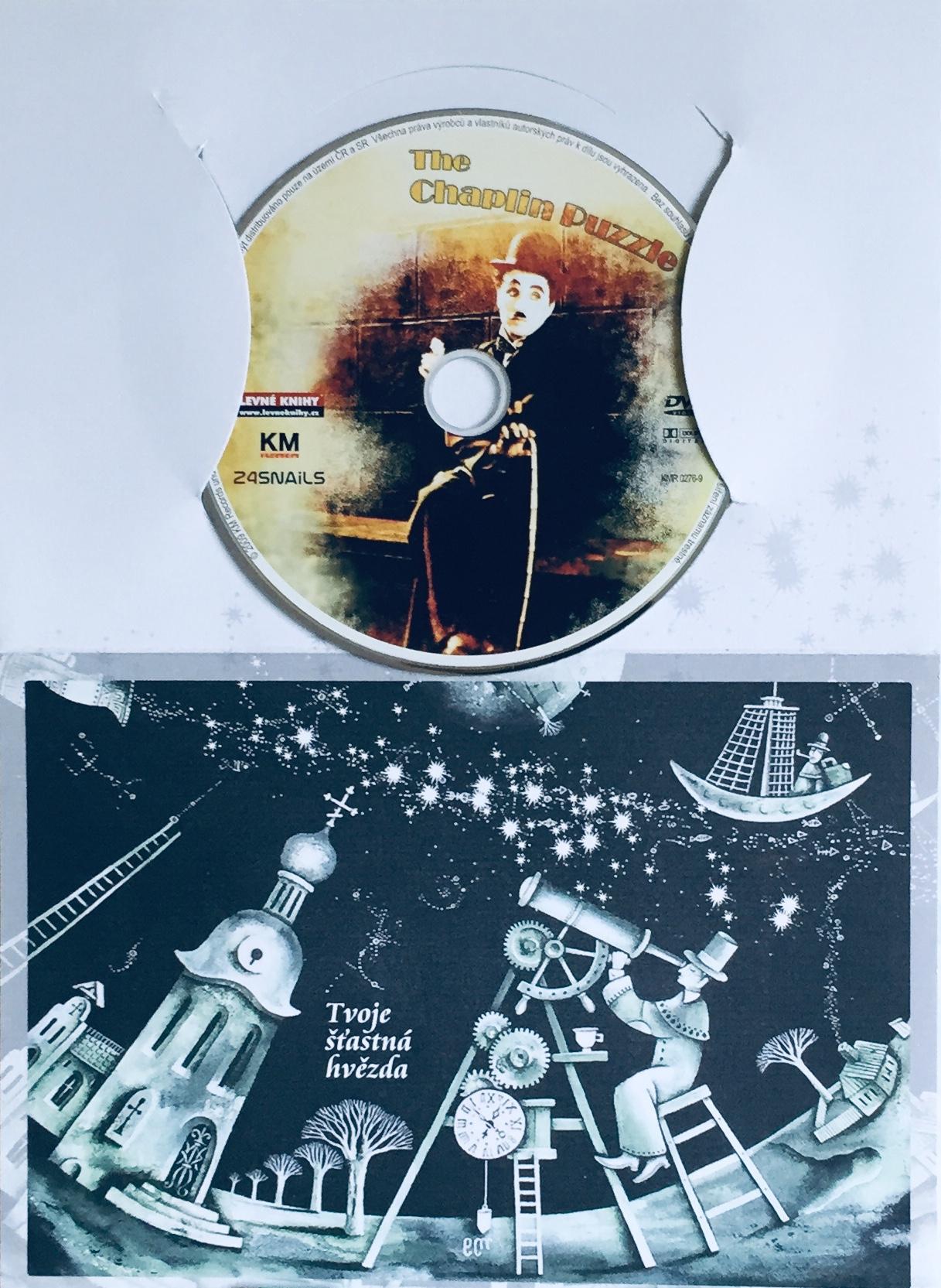 The Chaplin Puzzle / Chaplinova skládanka - DVD /dárkový obal/