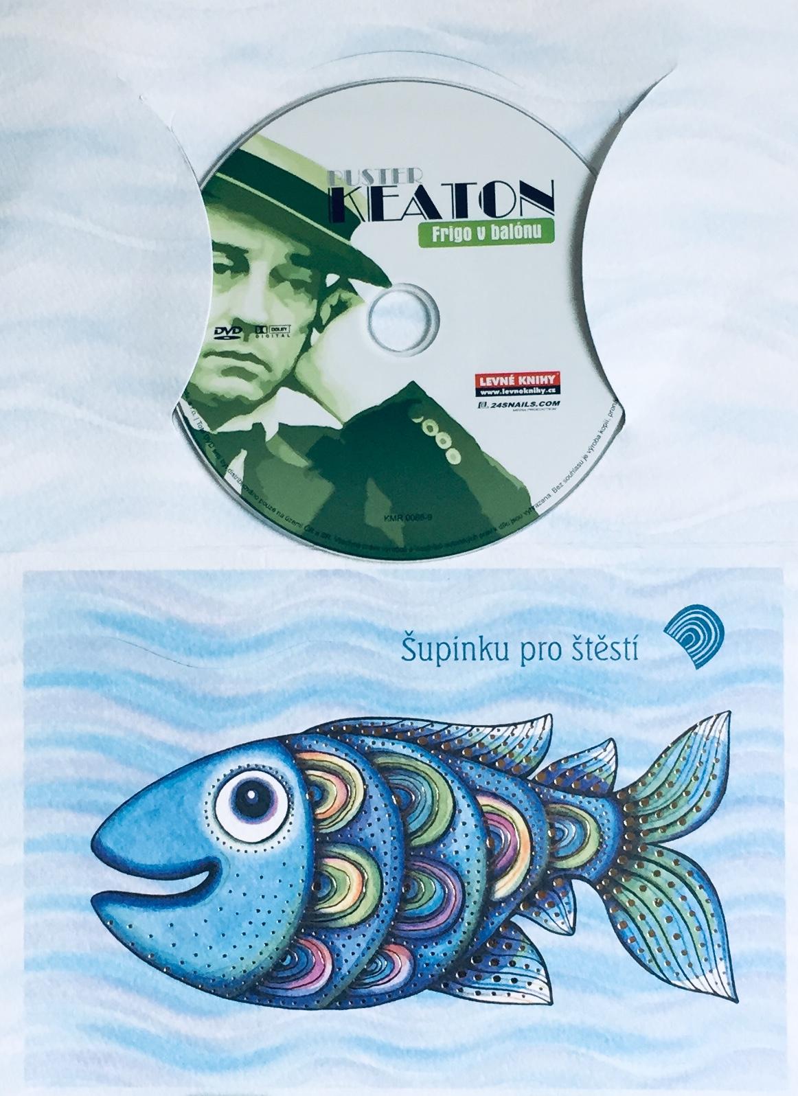 Buster Keaton - Frigo v balónu - DVD /dárkový obal/