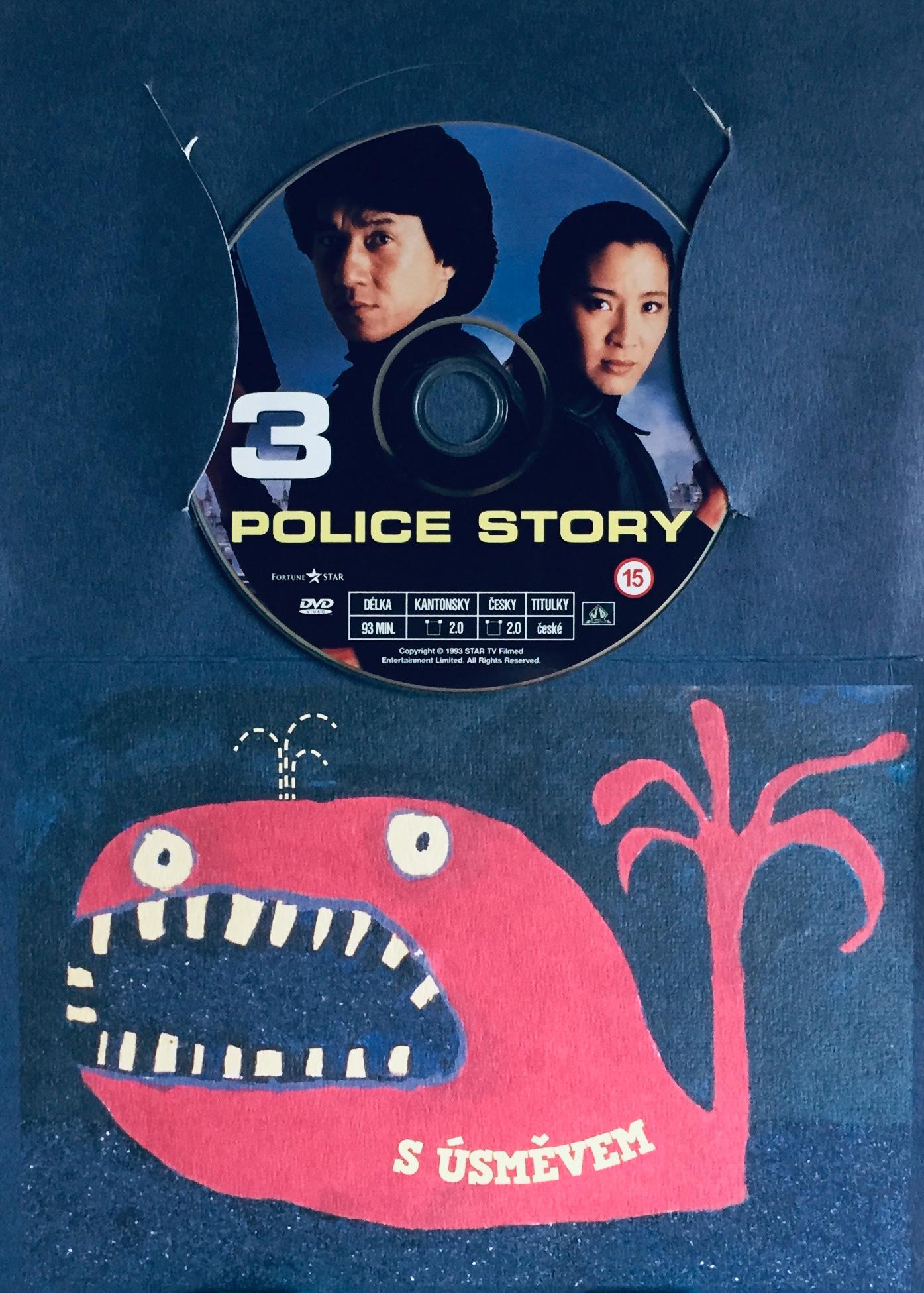 Police Story 3 - DVD /dárkový obal/