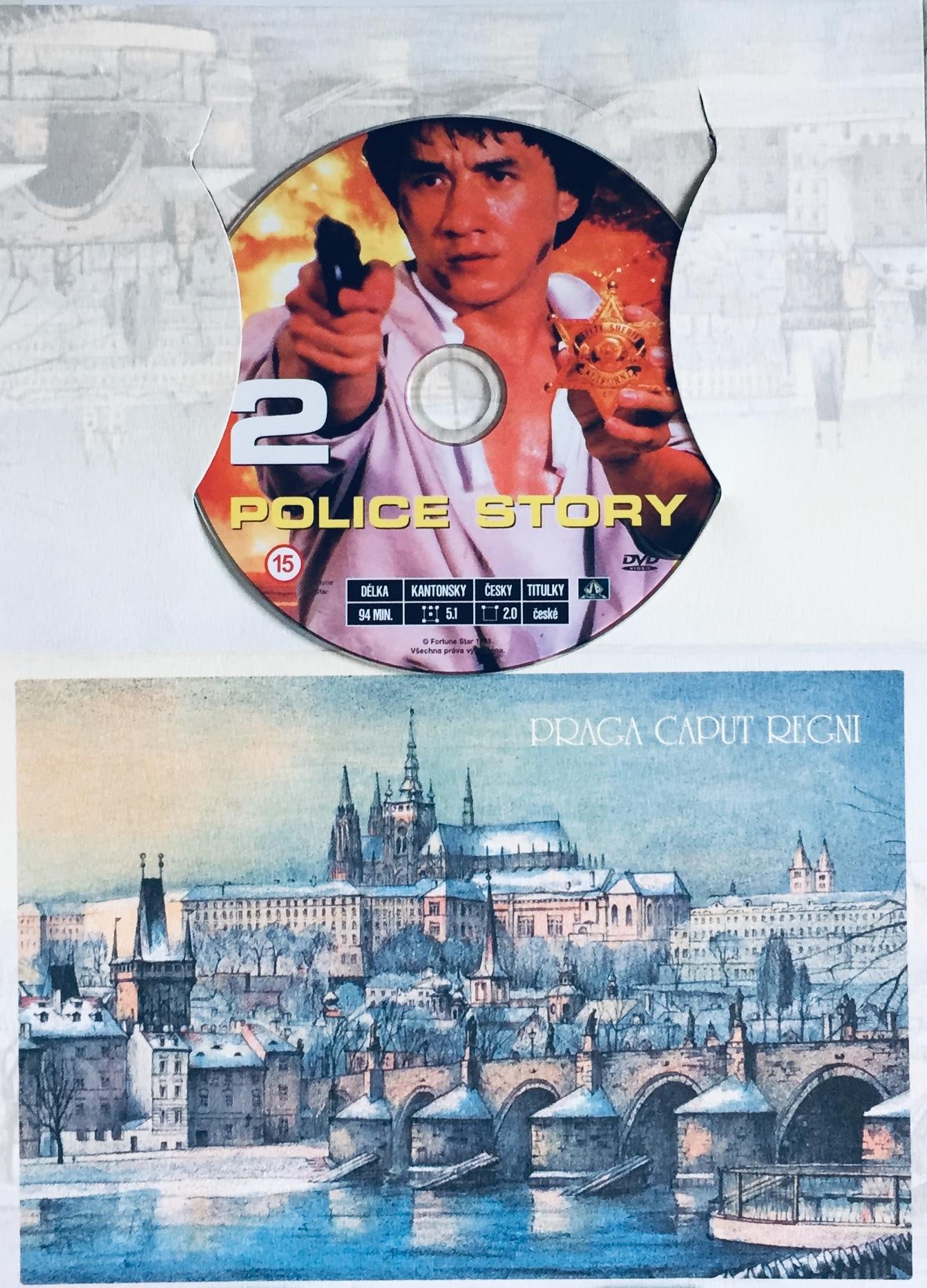 Police Story 2 - DVD /dárkový obal/