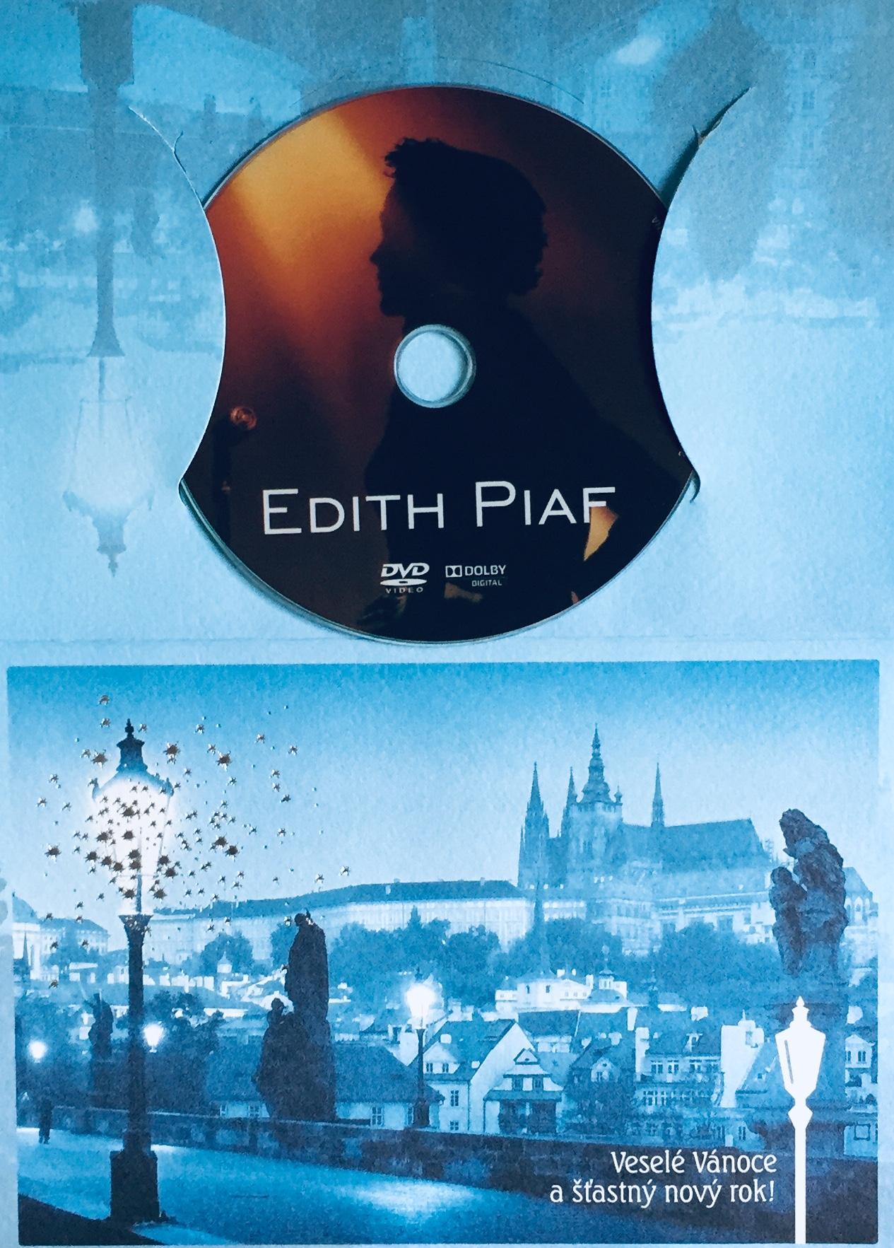 Edith Piaf - DVD /dárkový obal/