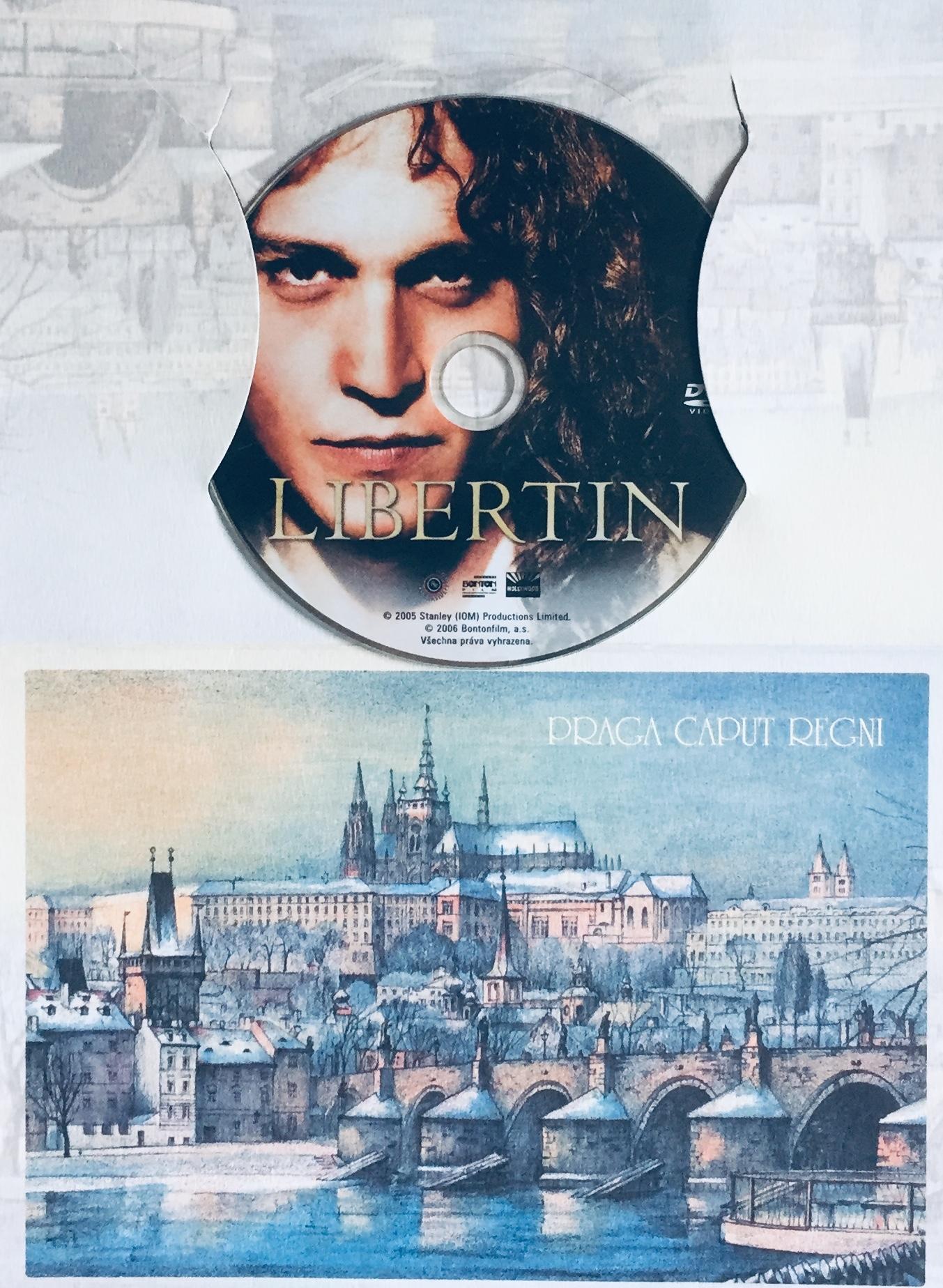 Libertin - DVD /dárkový obal/