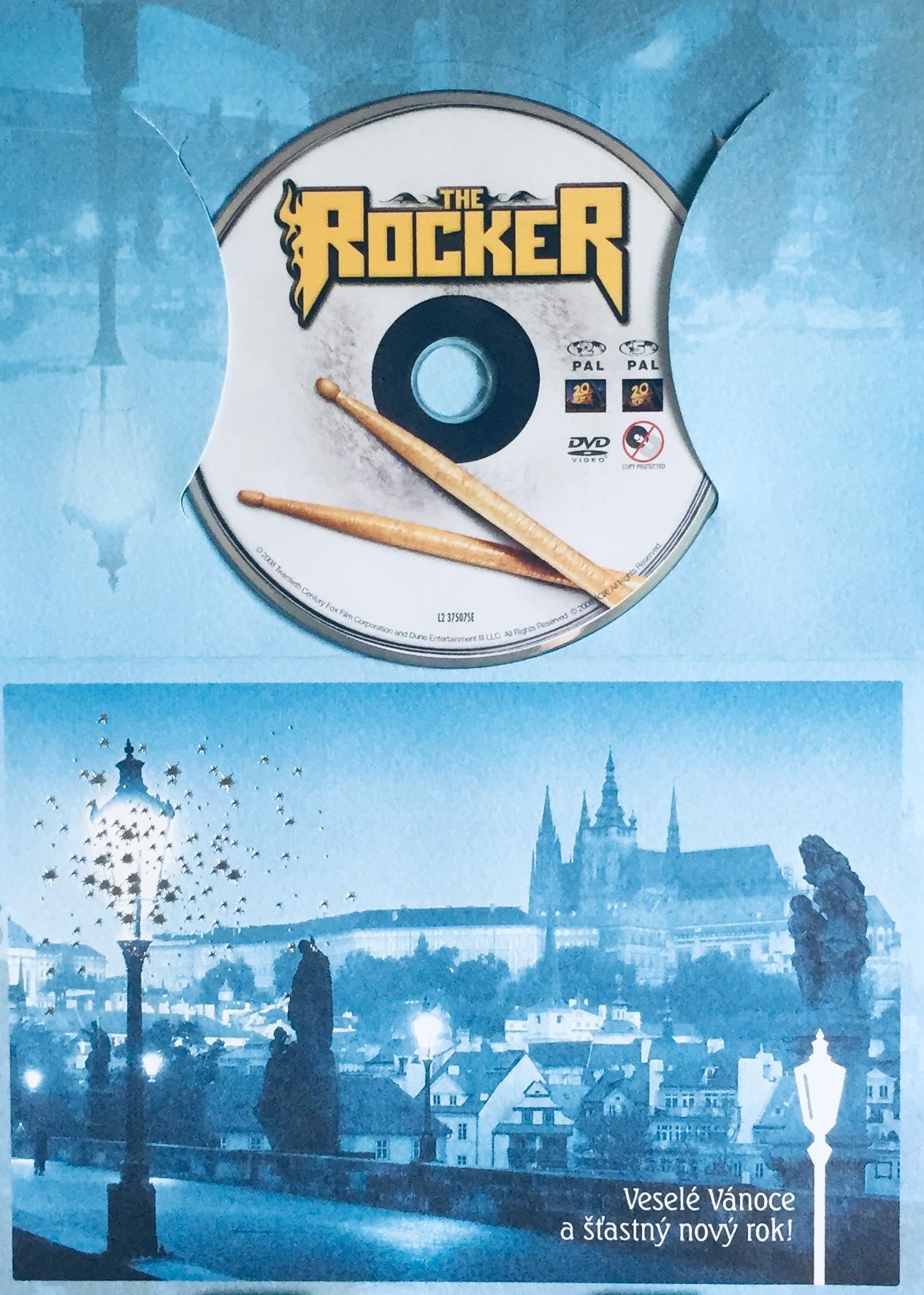 The Rocker / Rocker - DVD /dárkový obal/