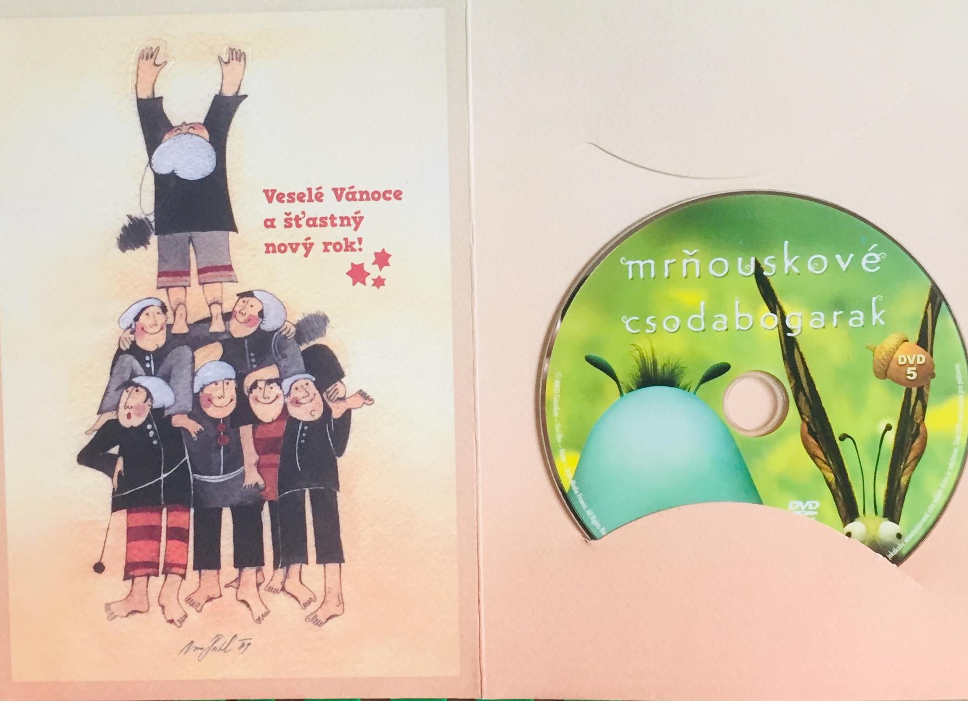 Mrňouskové 5 - DVD /dárkový obal/