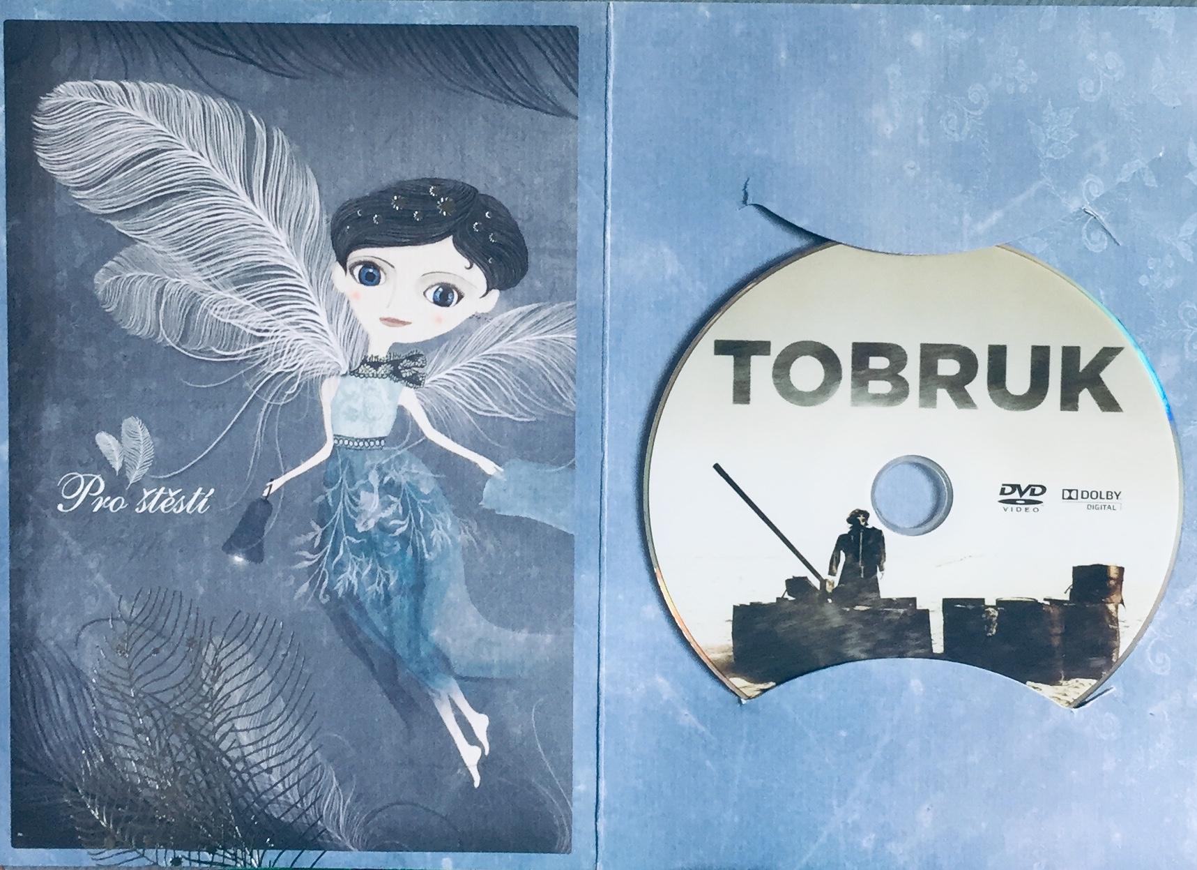 Tobruk - DVD /dárkový obal/