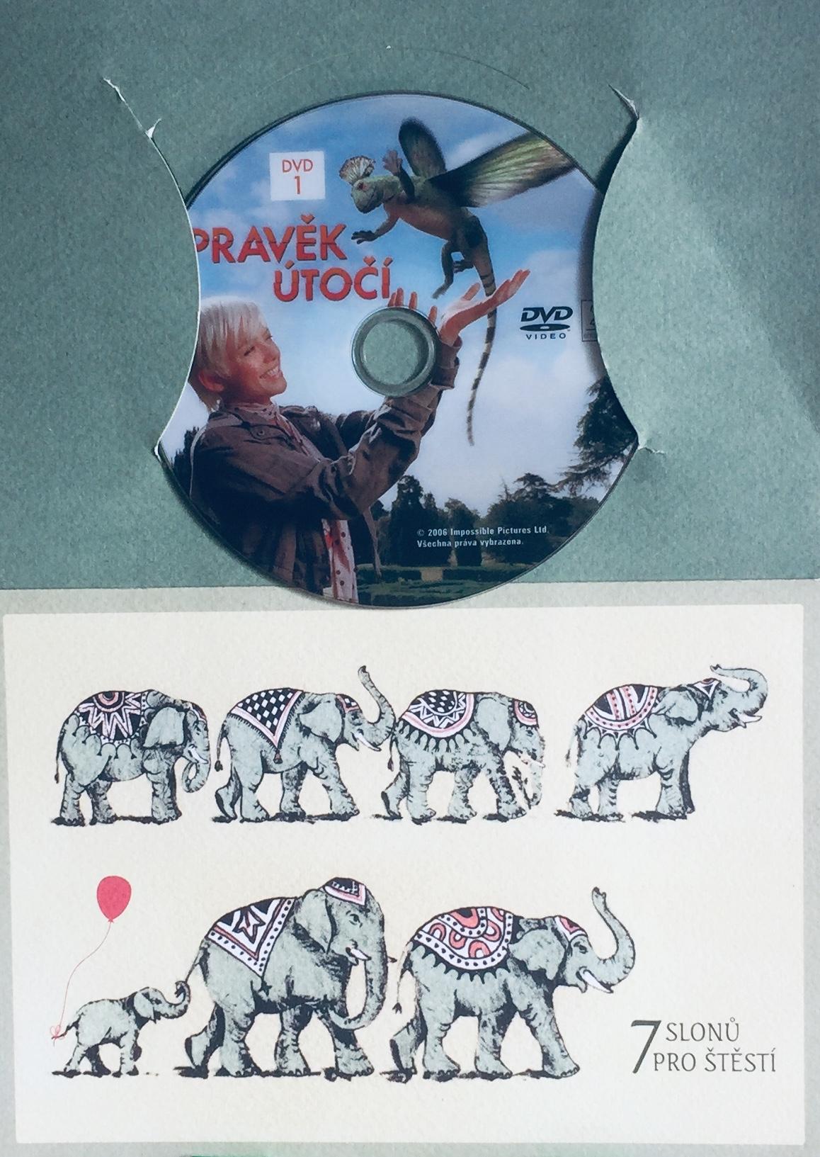Pravěk útočí 1 - DVD /dárkový obal/