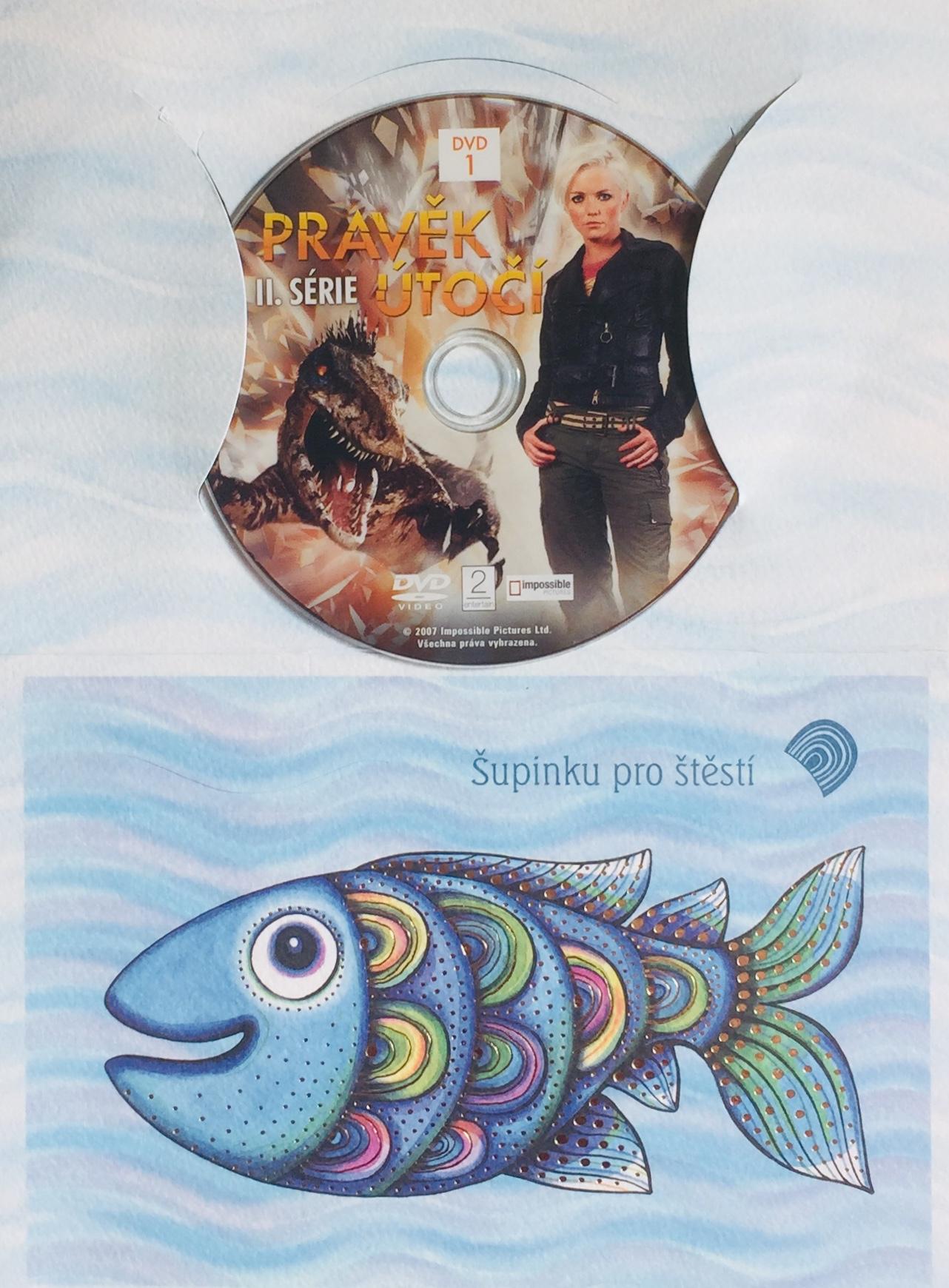 Pravěk útočí - II. série 1 - DVD /dárkový obal/