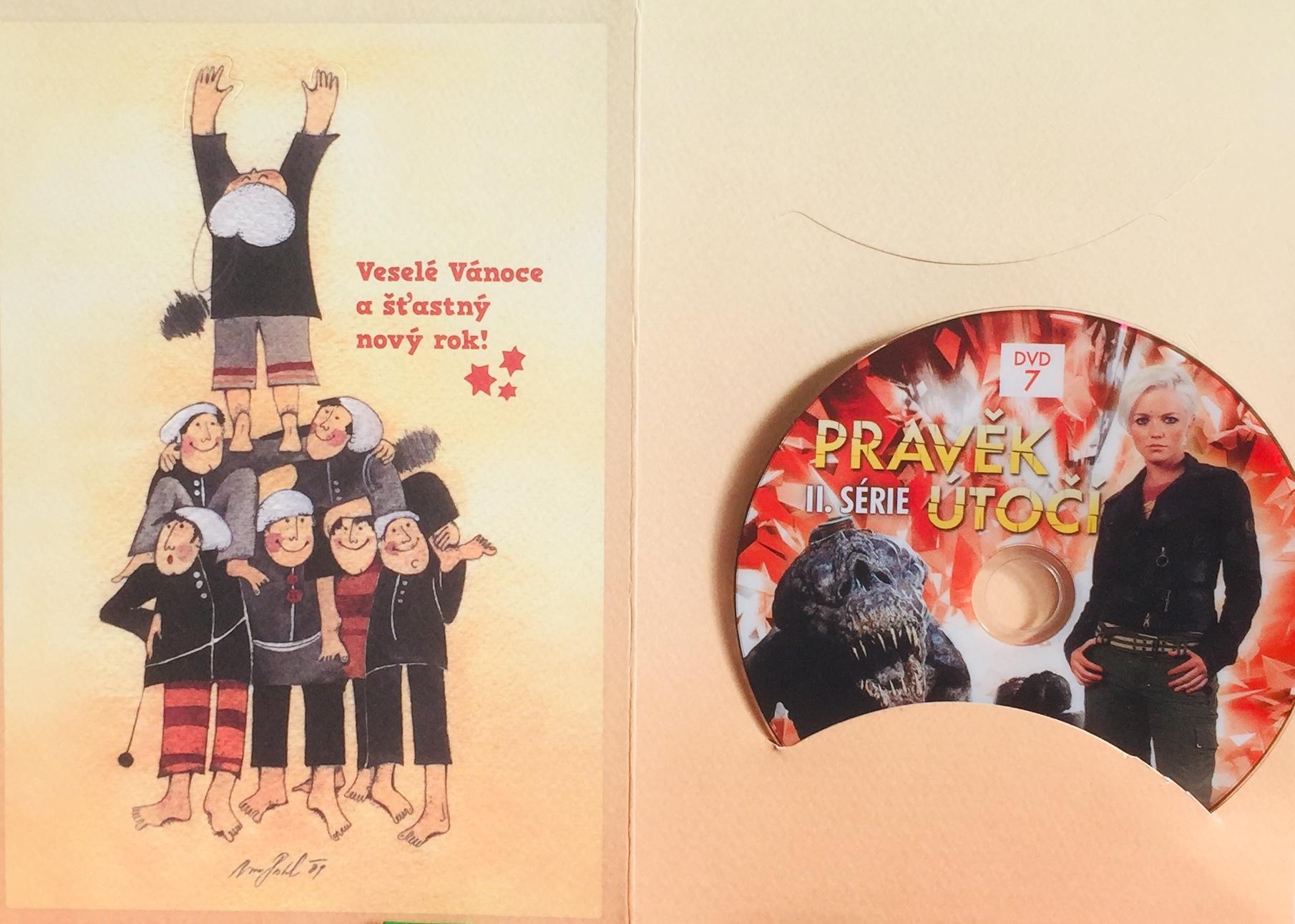 Pravěk útočí - II. série 7 - DVD /dárkový obal/