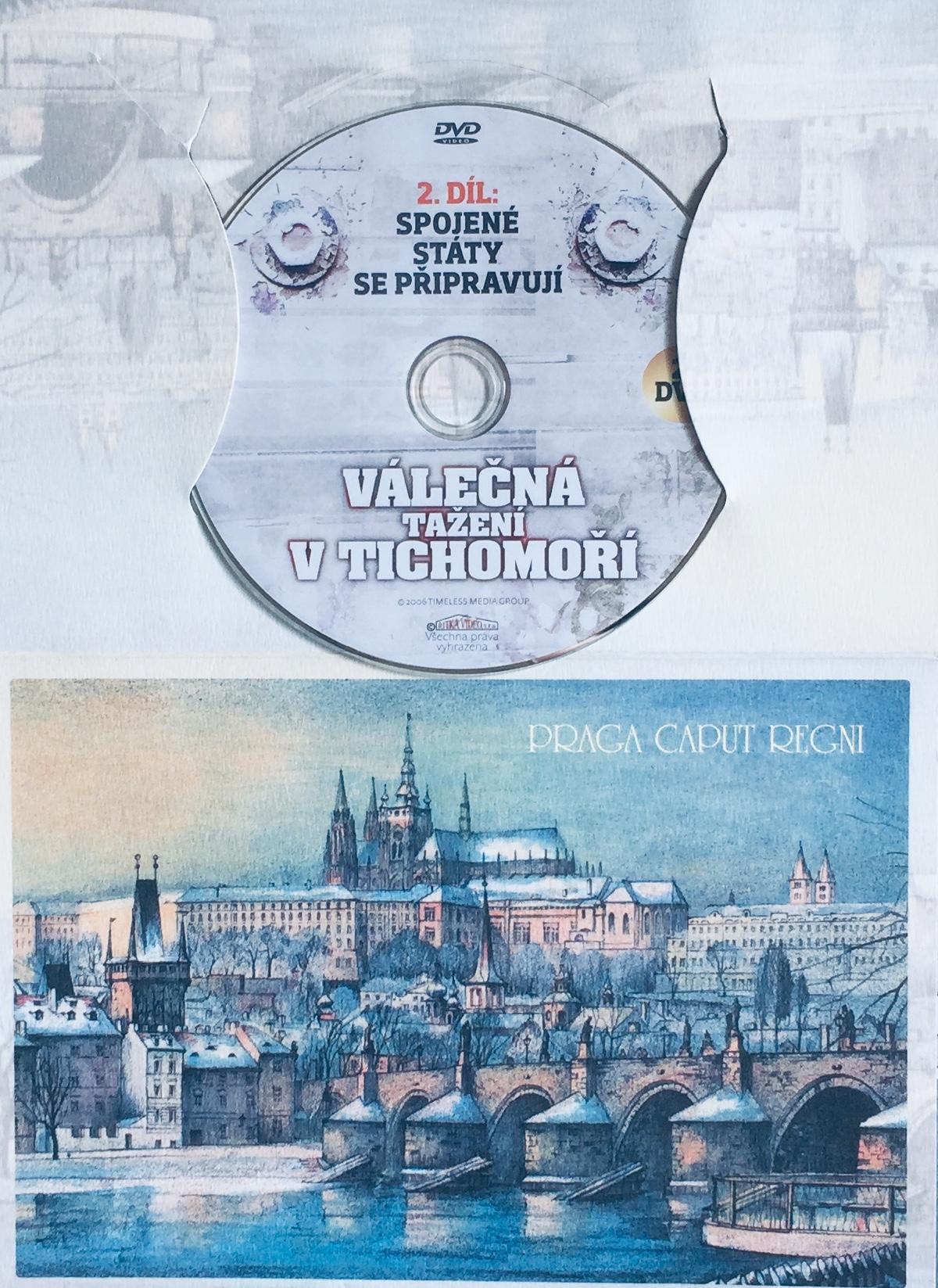 Válečná tažení v Tichomoří 2 - Spojené státy se připravují - DVD /dárkový obal/