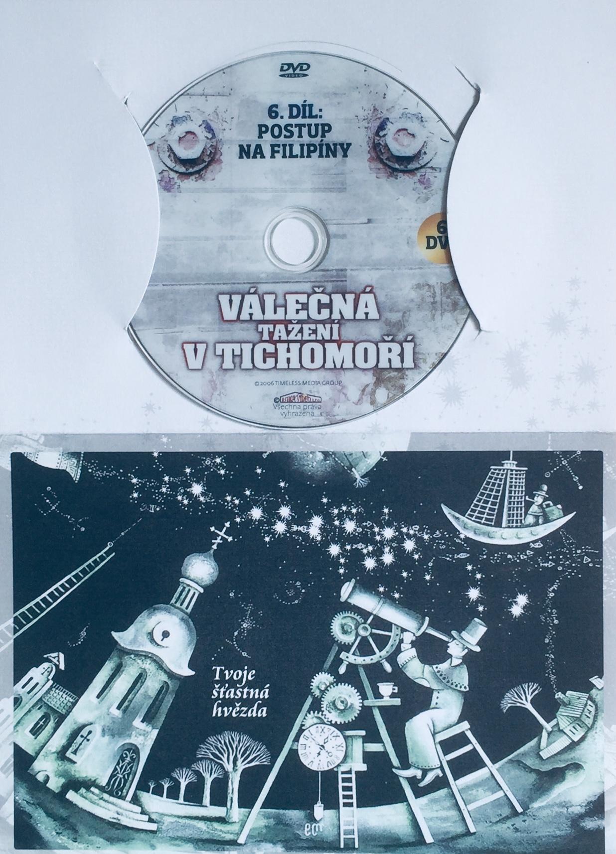 Válečná tažení v Tichomoří 6 - Postup na Filipíny - DVD /dárkový obal/