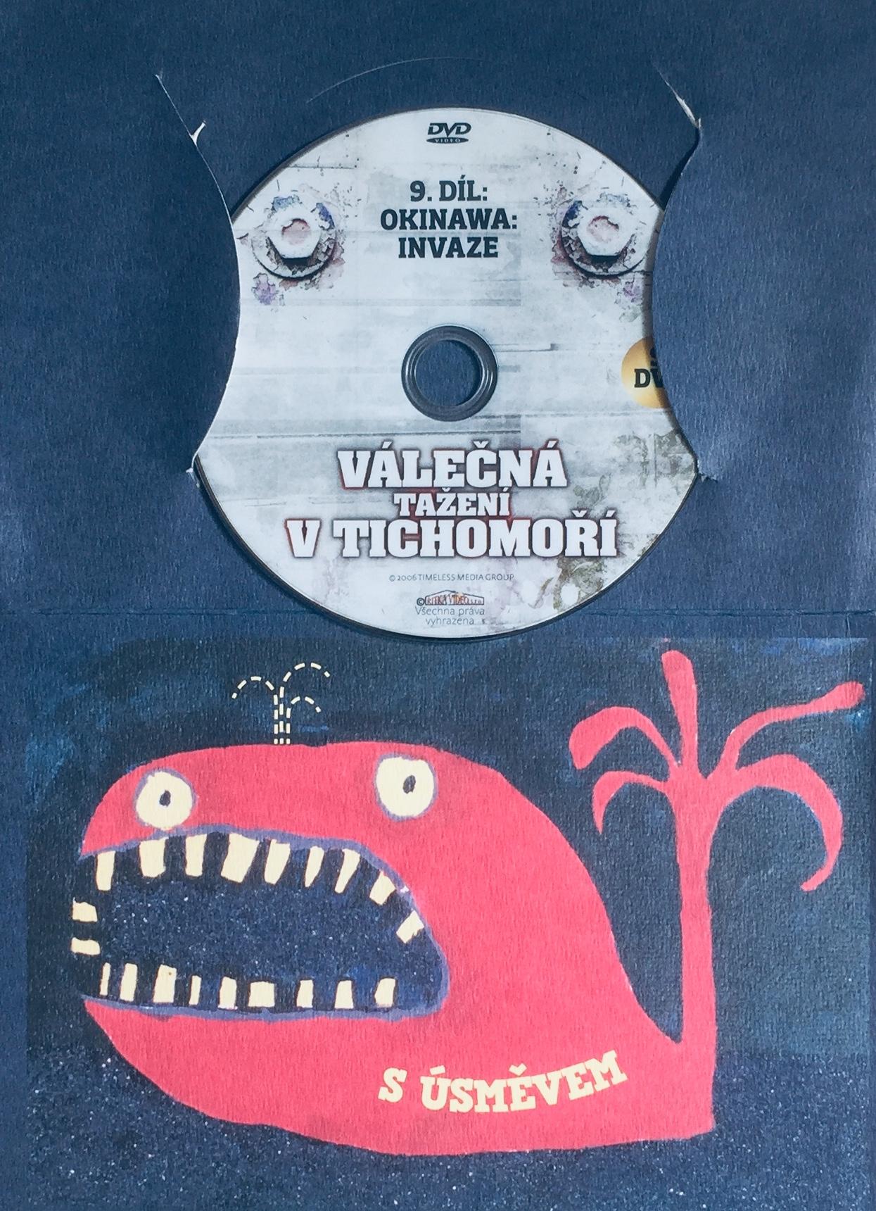 Válečná tažení v Tichomoří 9 - Okinawa: Invaze - DVD /dárkový obal/