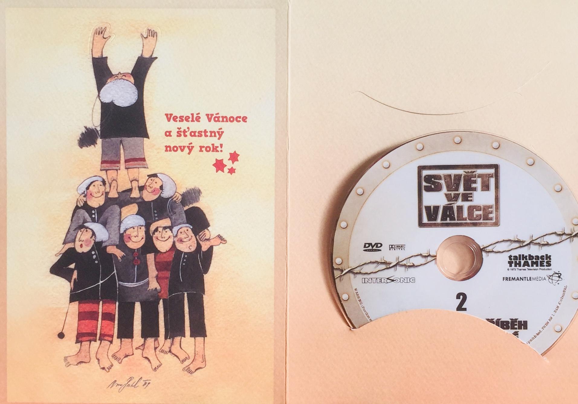 Svět ve válce 2 - DVD /dárkový obal/