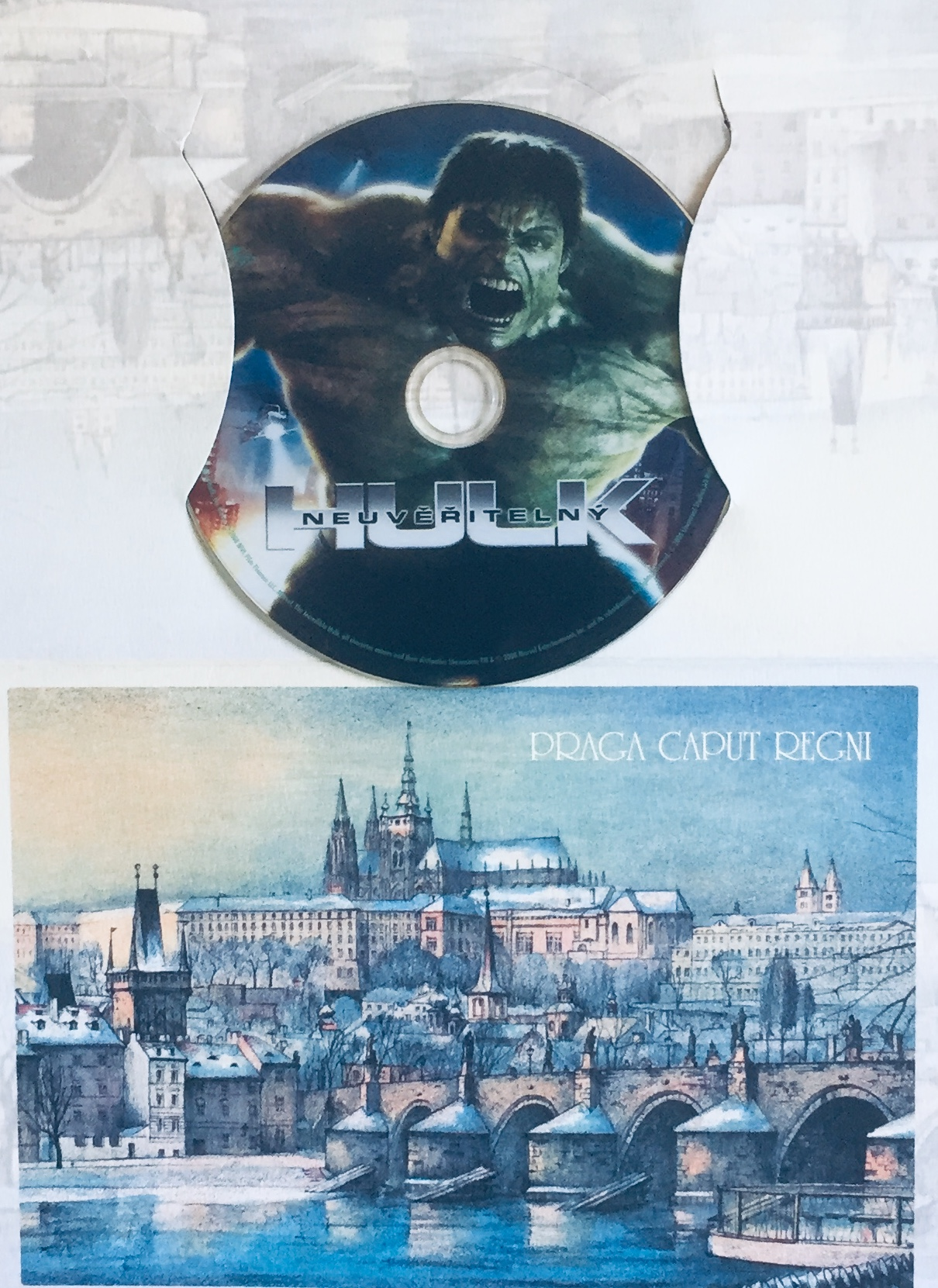 Neuvěřitelný Hulk - DVD /dárkový obal/