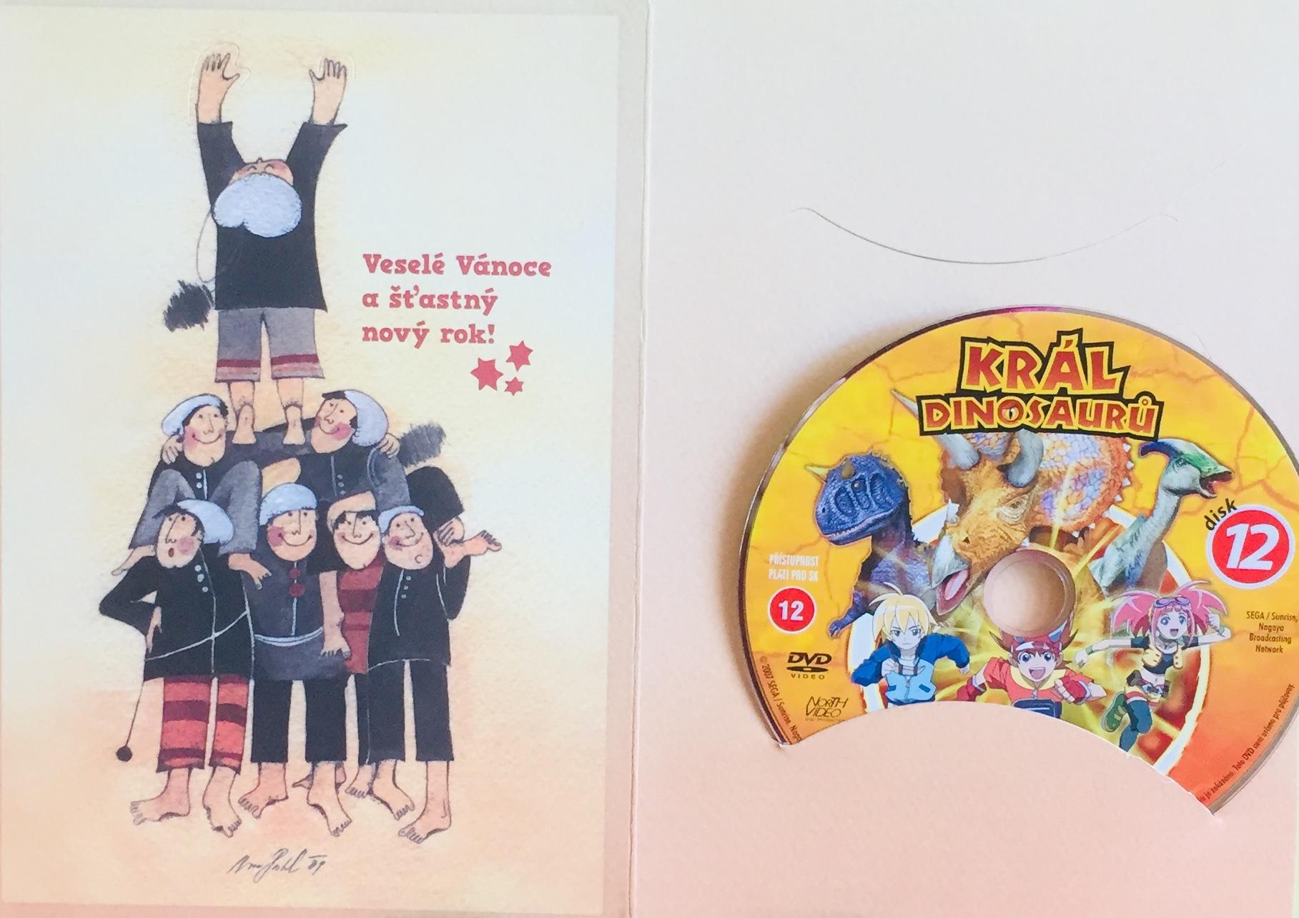 Král dinosaurů 12 - DVD /dárkový obal/