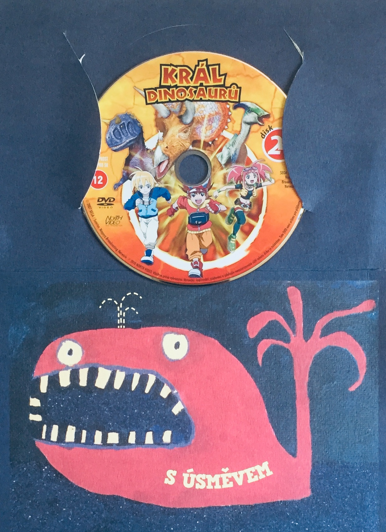 Král dinosaurů 24 - DVD /dárkový obal/