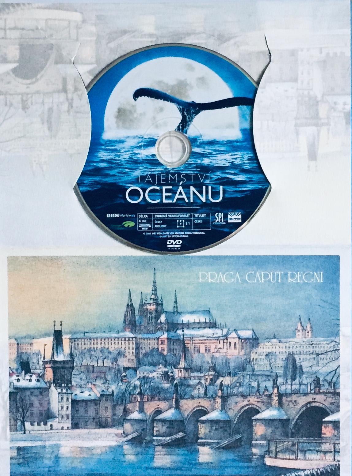 Tajemství oceánu - DVD /dárkový obal/