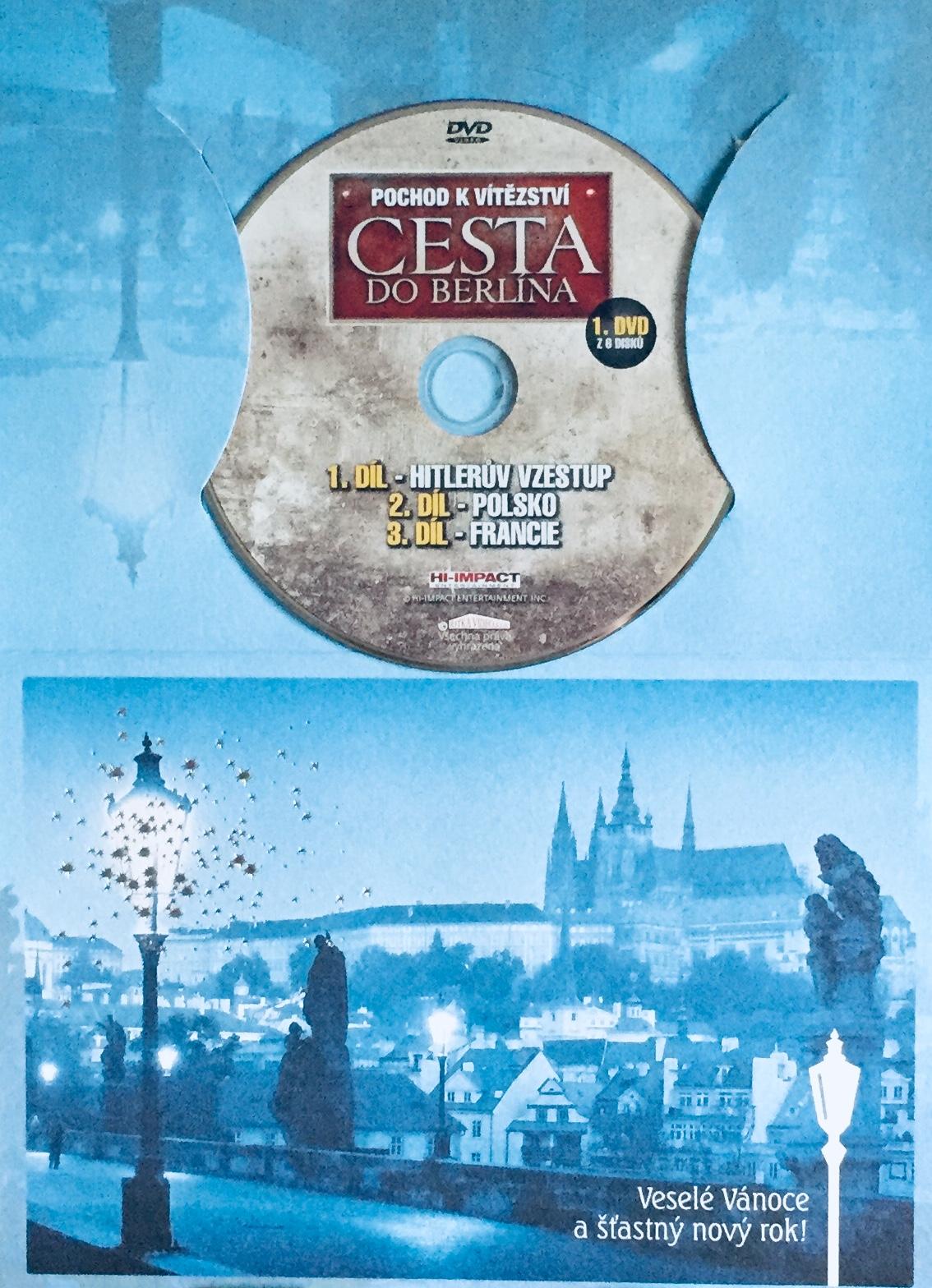 Pochod k vítězství: Cesta do Berlína 1 - DVD /dárkový obal/