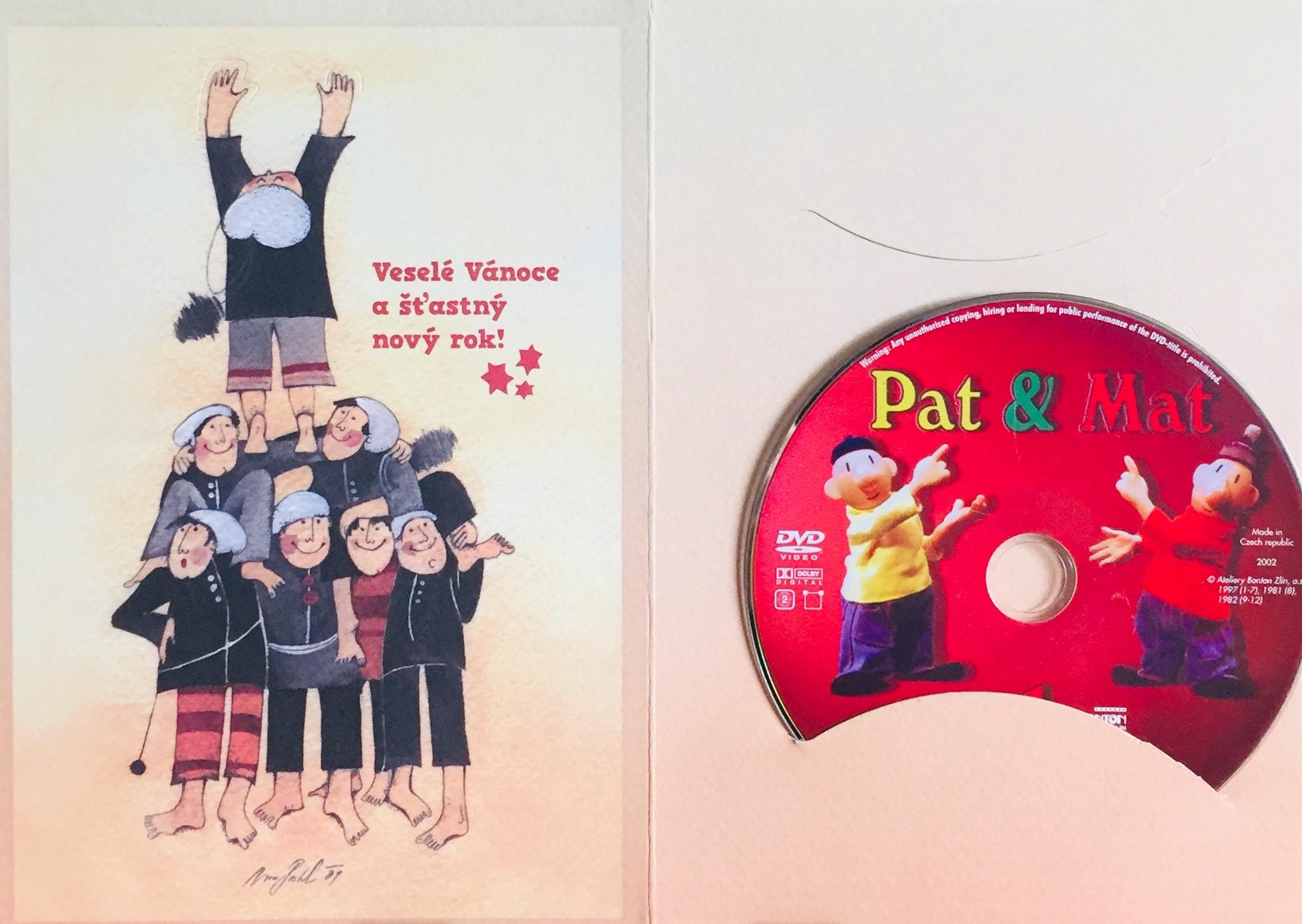 Pat a Mat 1 - DVD /dárkový obal/
